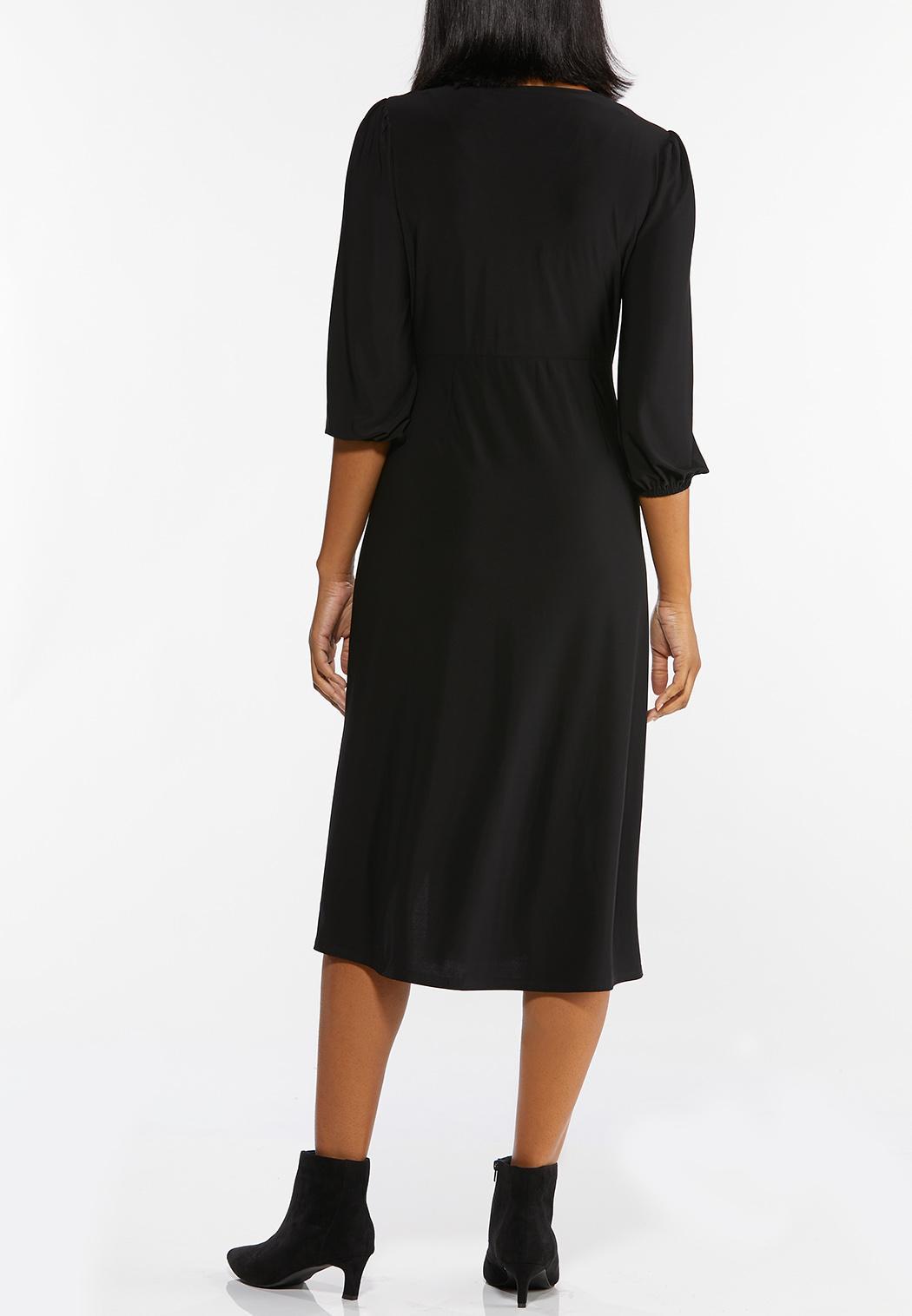 Black Midi Dress (Item #44489072)