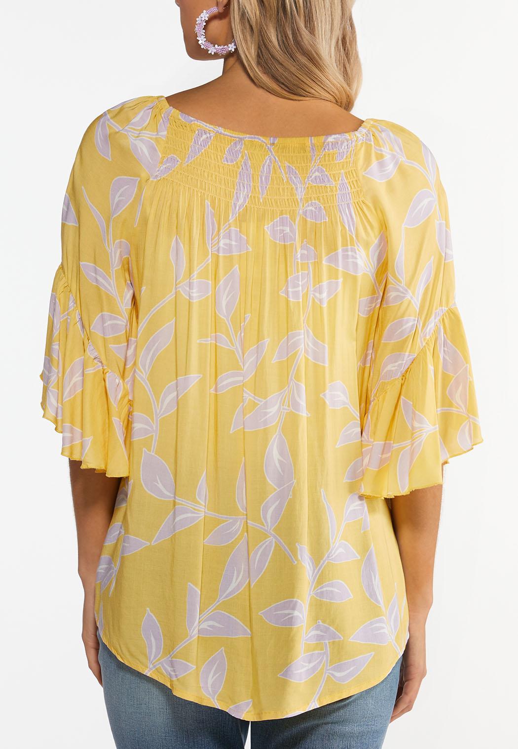 Plus Size Sunshine Bloom Top (Item #44489363)