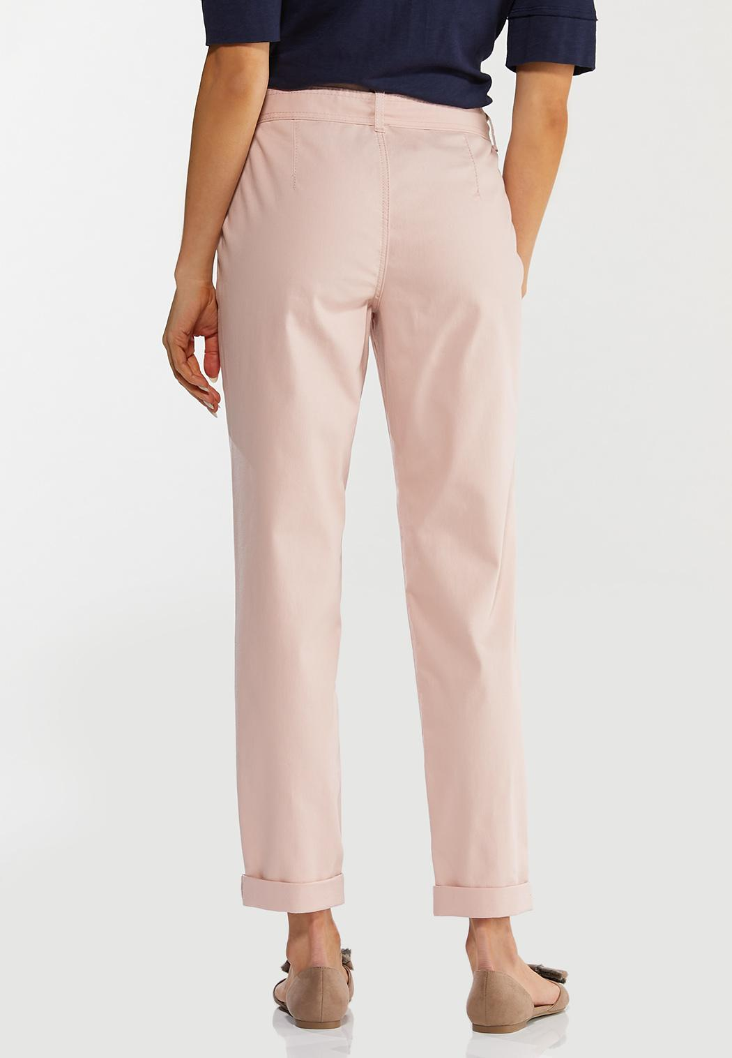 Rosey Tie Waist Ankle Pants (Item #44489445)