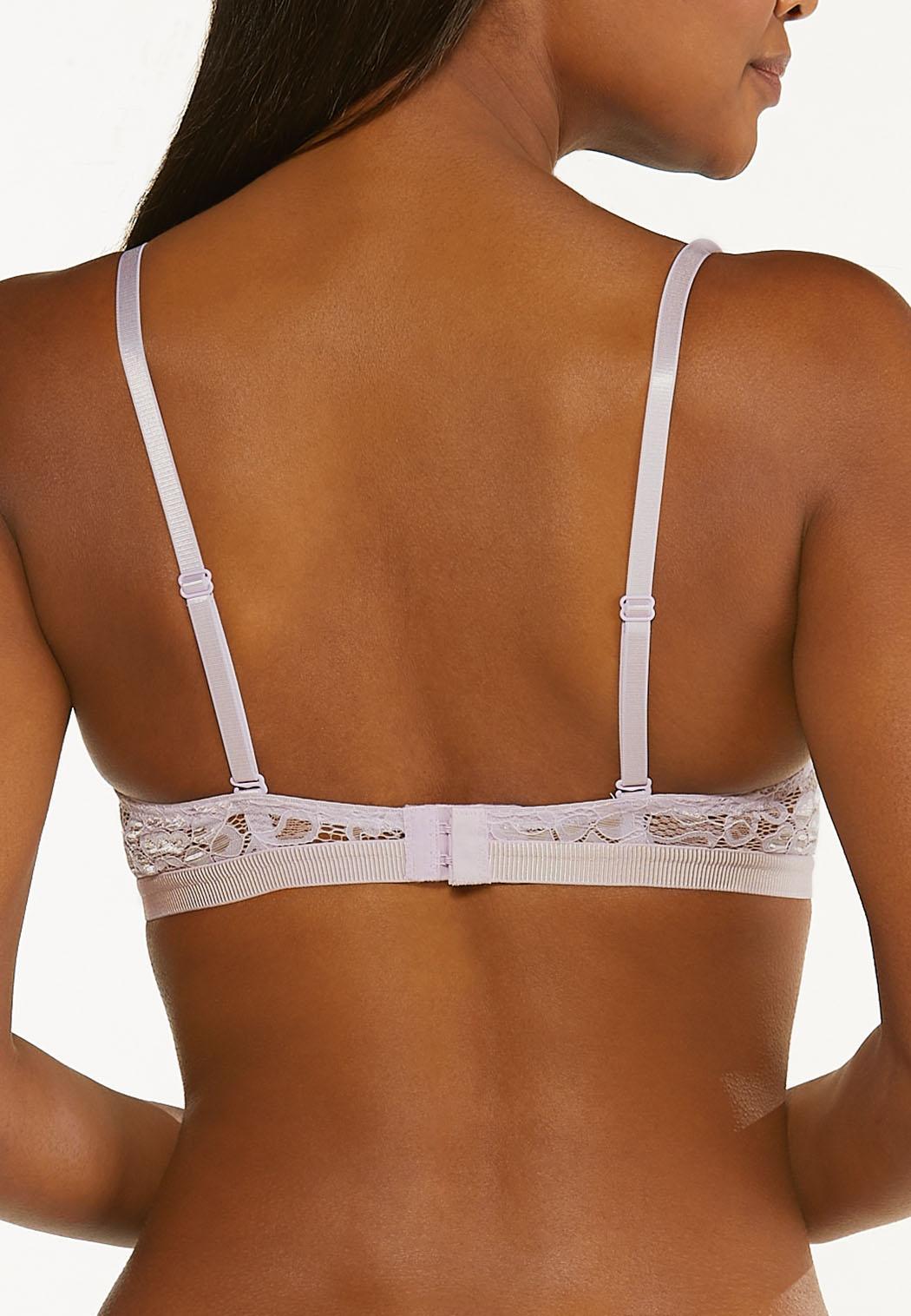 Plus Size Lace Convertible Bra Set (Item #44491220)