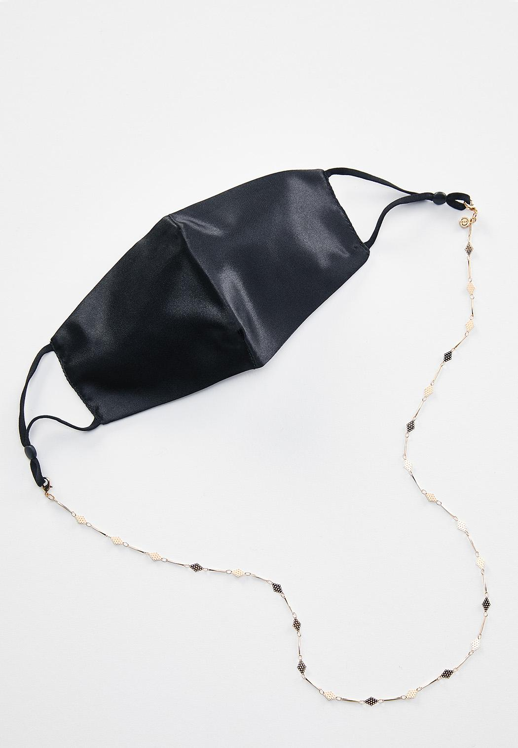 Gold Diamond Face Mask Chain (Item #44491247)