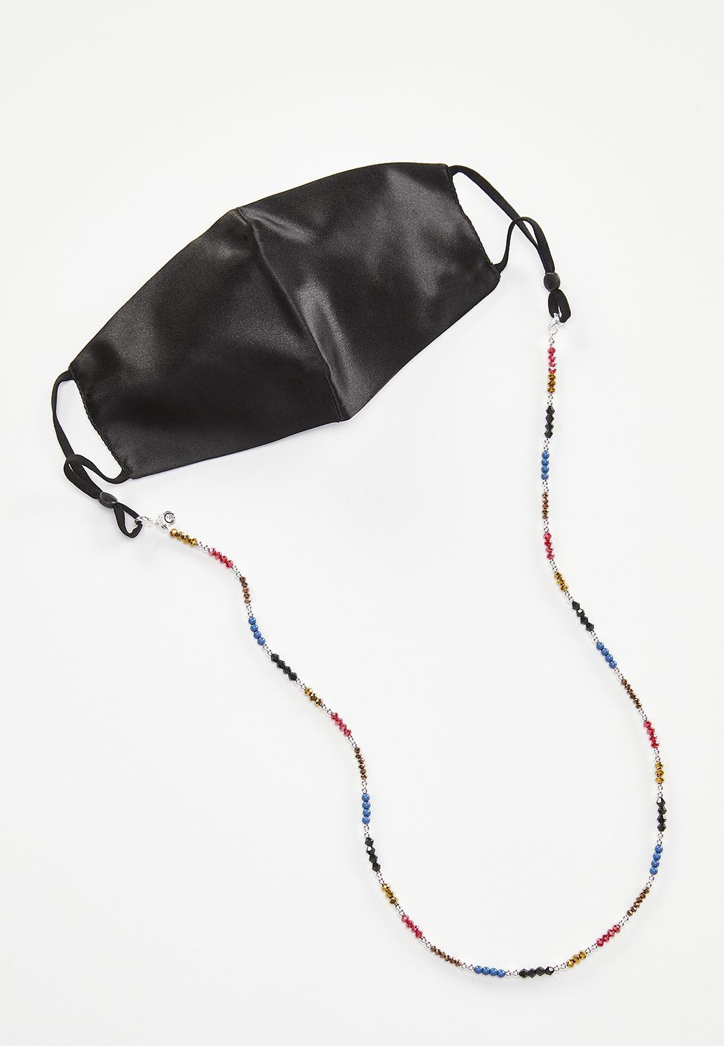 Rainbow Bead Face Mask Chain (Item #44491249)