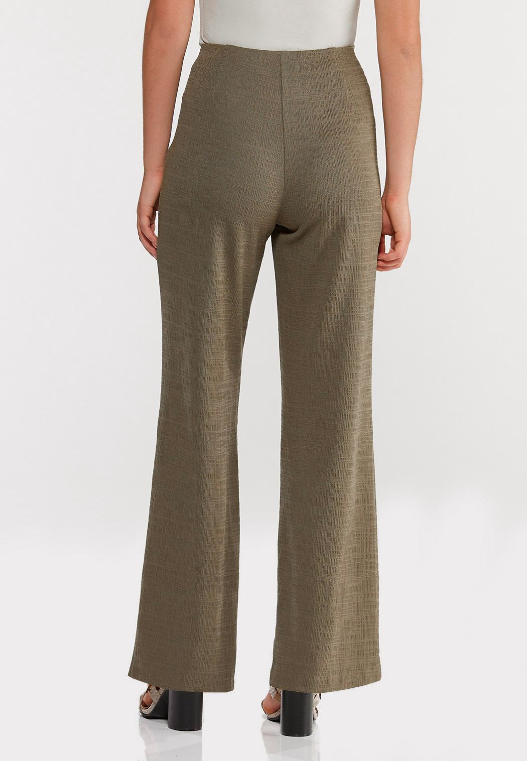 Petite Textured Self-Tie Pants (Item #44491501)