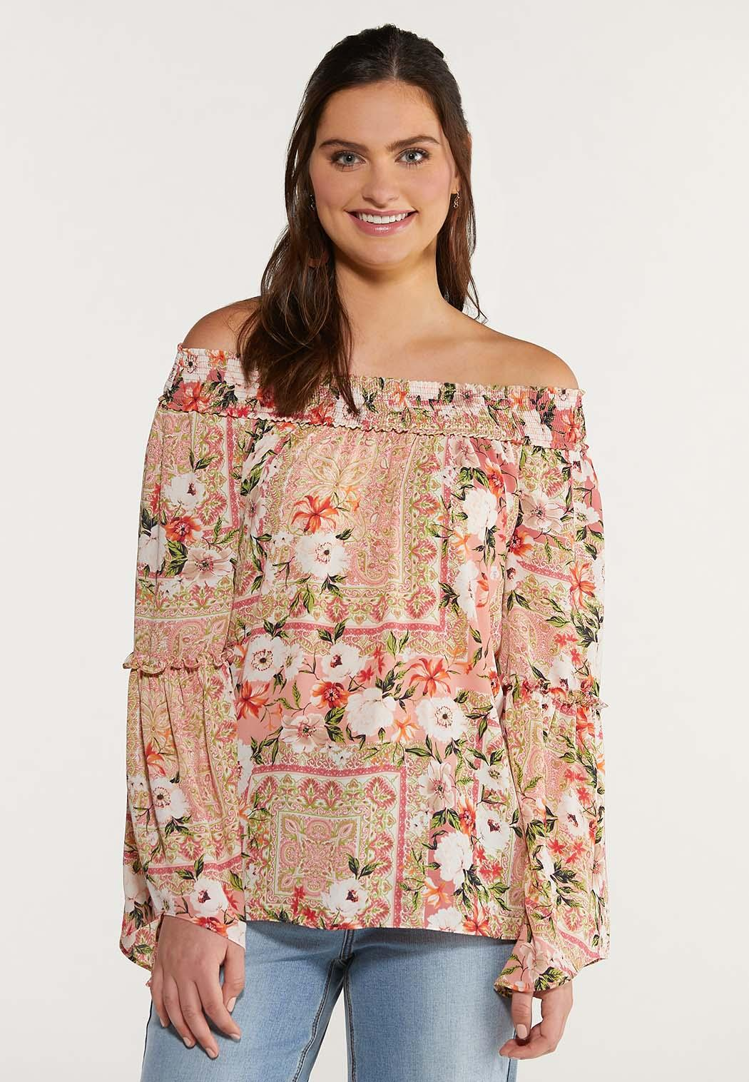 Garden Floral Poet Top (Item #44492059)