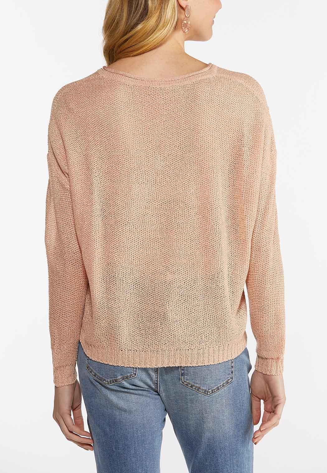 Blush V-Neck Sweater (Item #44492129)