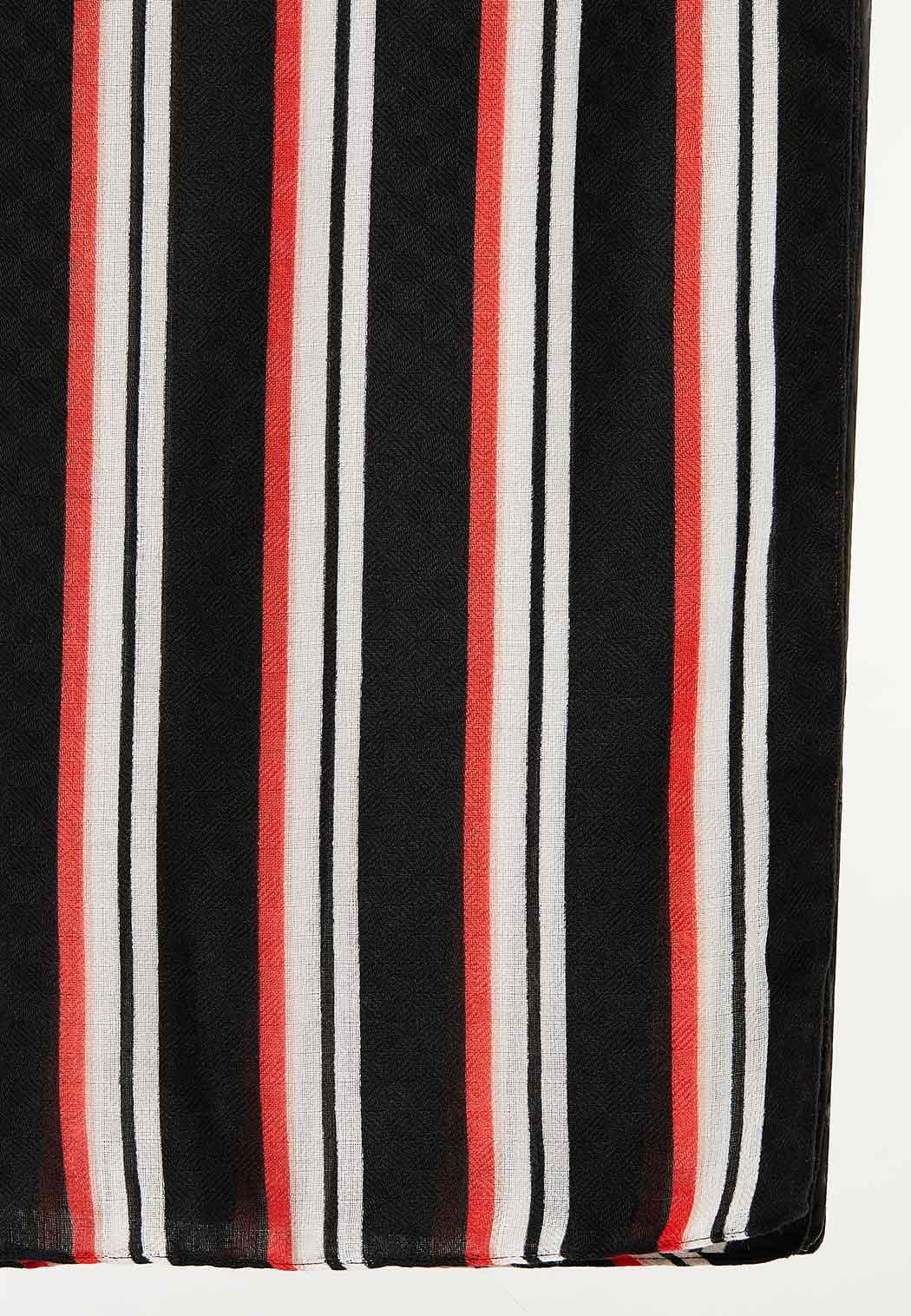 Statement Stripe Oblong Scarf (Item #44492299)