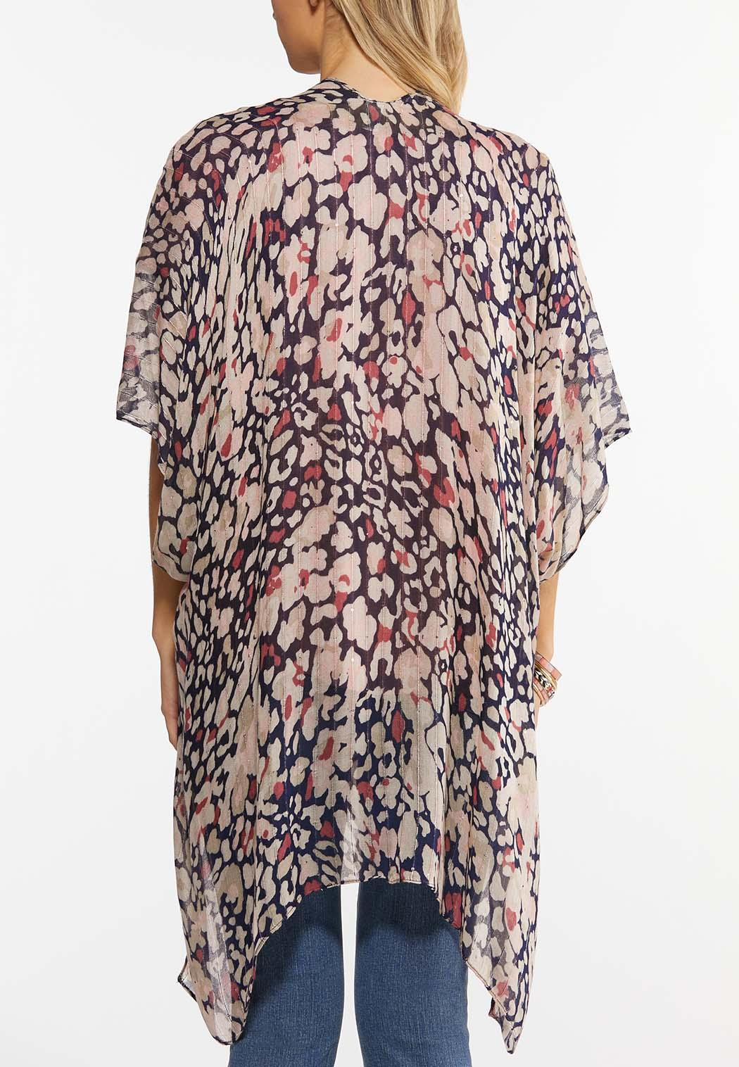 Sequin Thread Woven Kimono (Item #44492307)