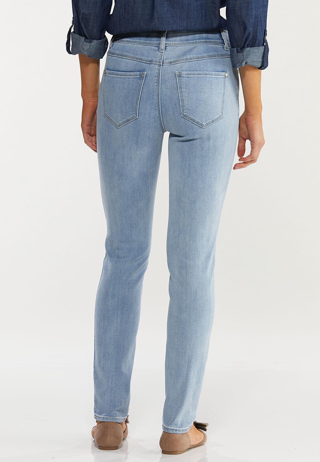 Lightwash Skinny Jeans (Item #44492332)