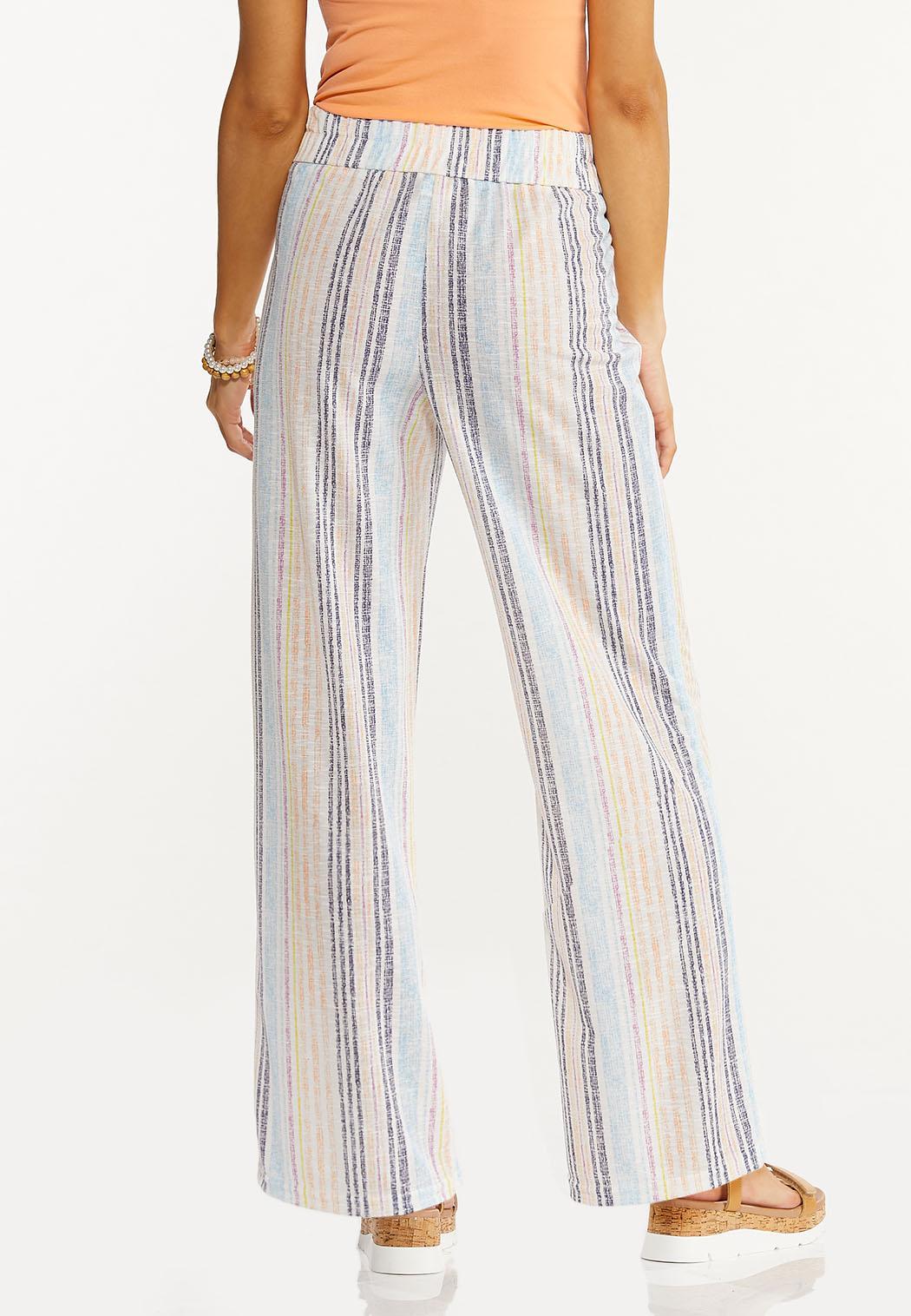Petite Multi Stripe Pants (Item #44493076)
