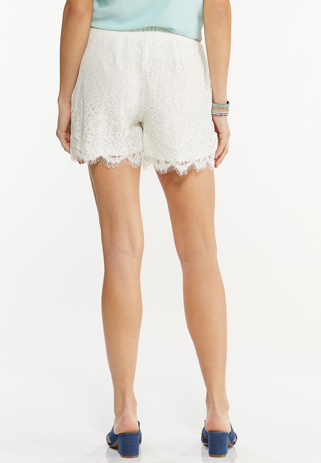 Floral Lace Shorts (Item #44493399)