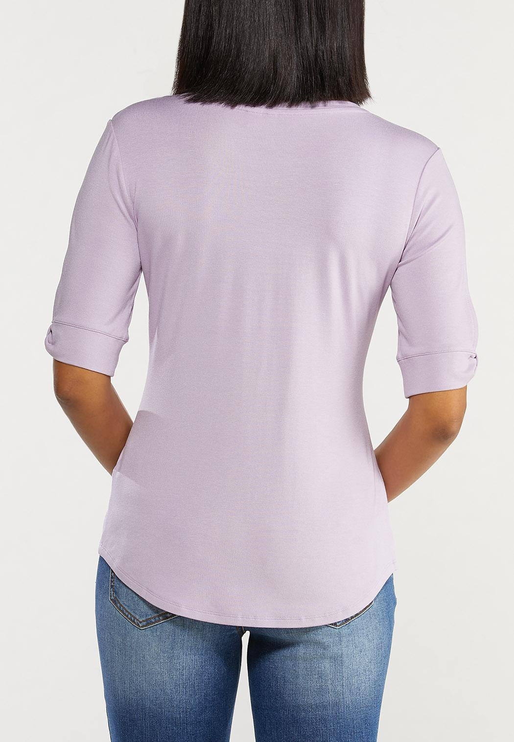 Split Sleeve Top (Item #44493476)