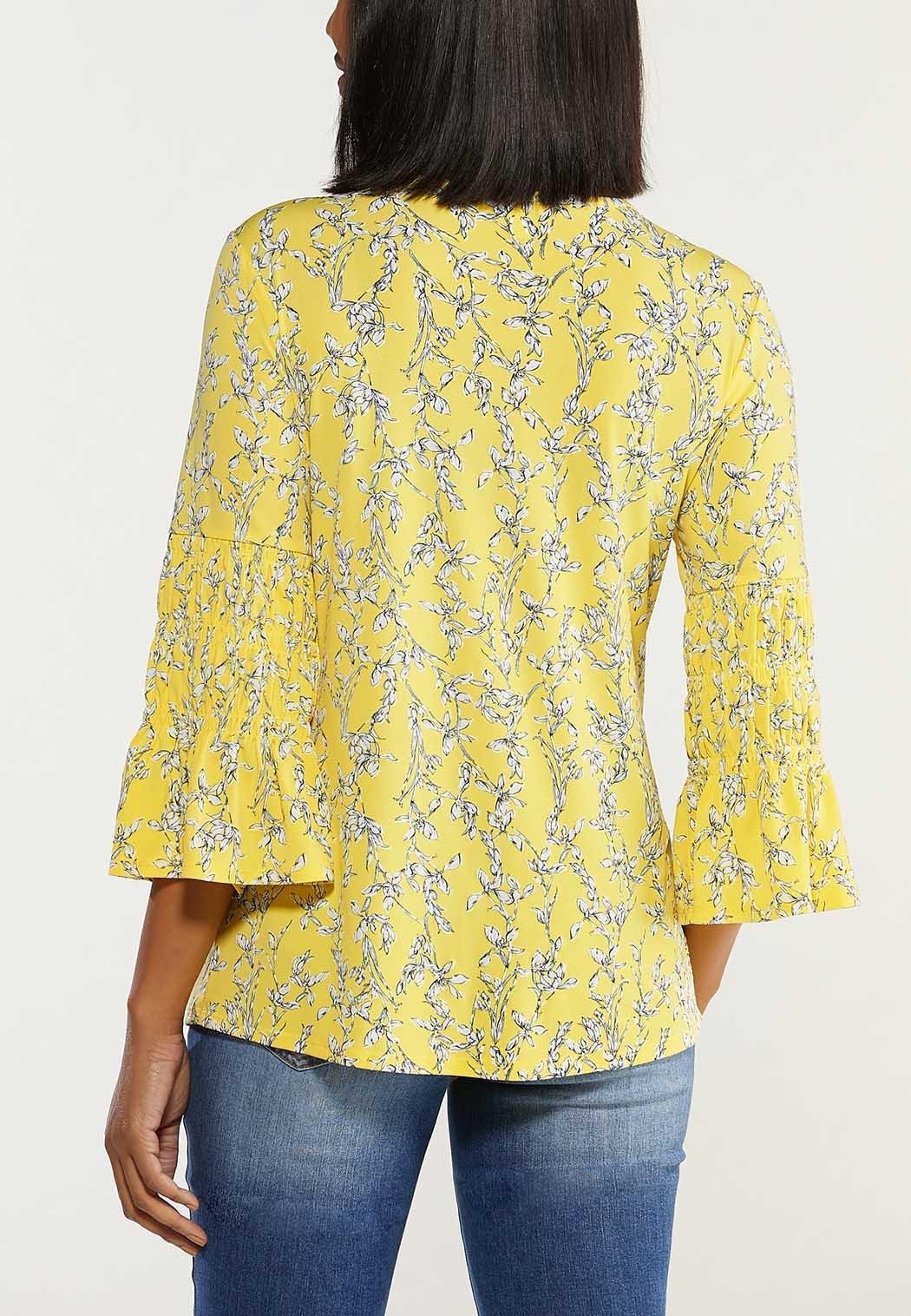 Plus Size Sunshine Bloom Top (Item #44494885)