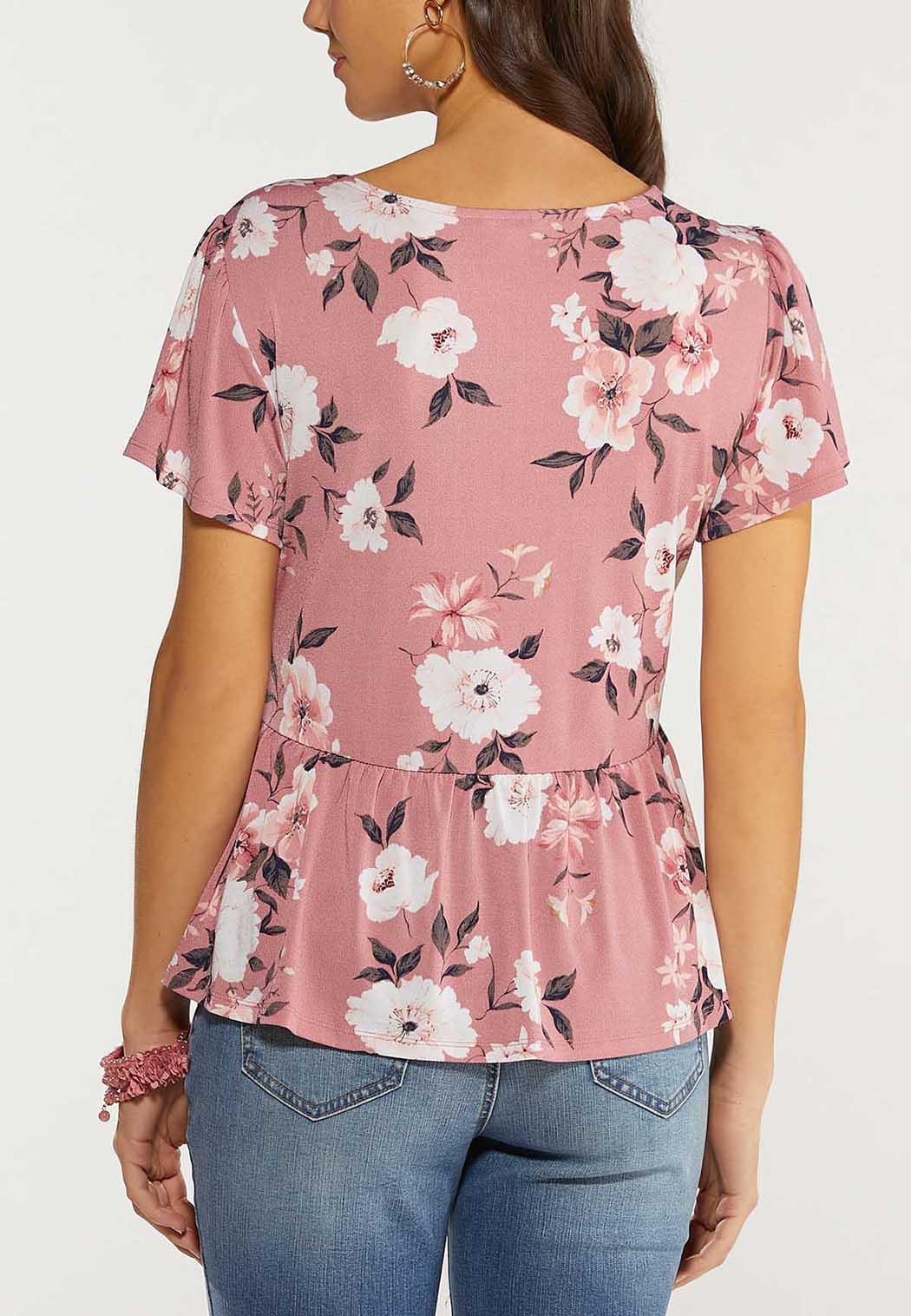 Blossom Peplum Top (Item #44495469)