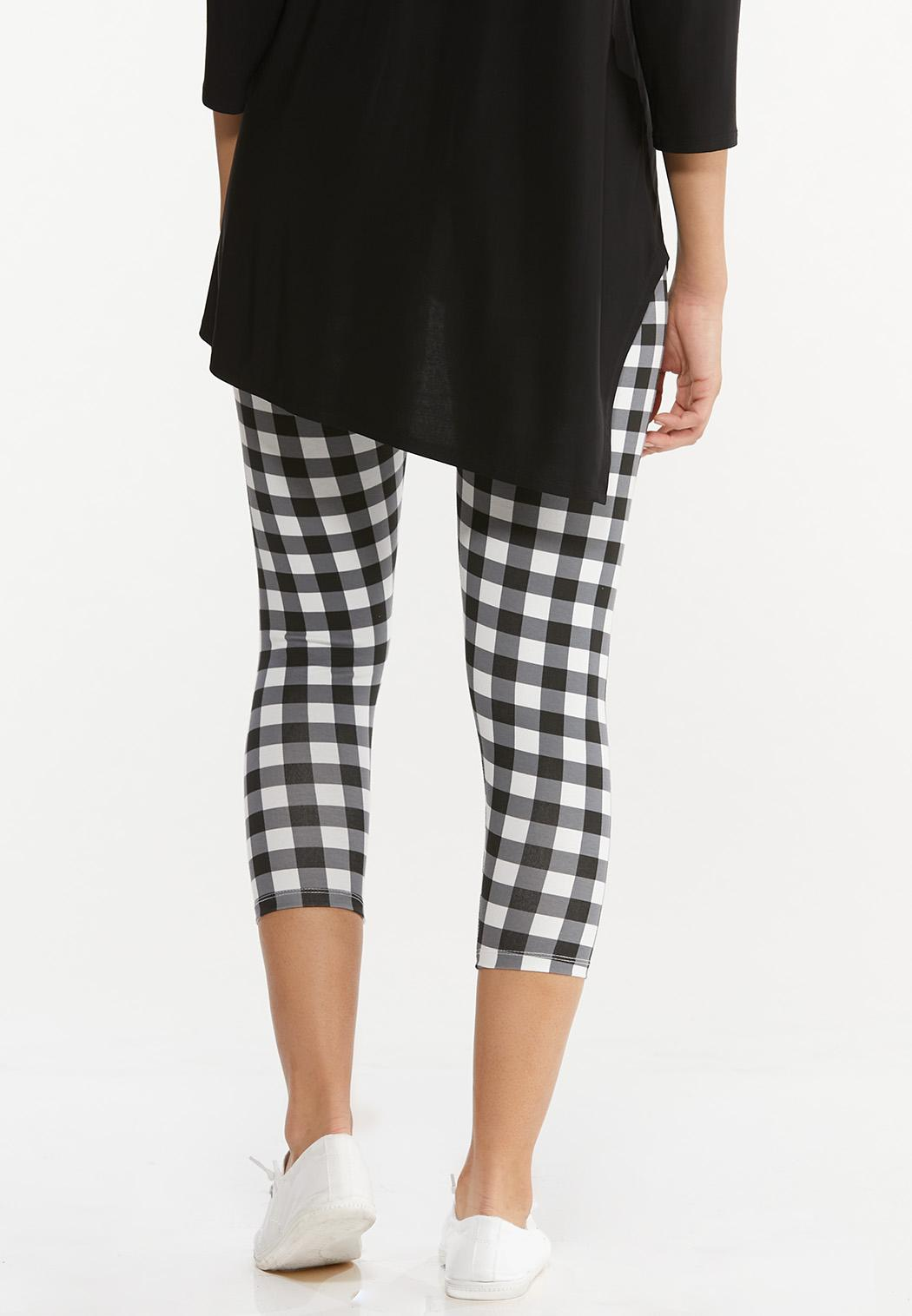 Cropped Check Pants (Item #44497492)
