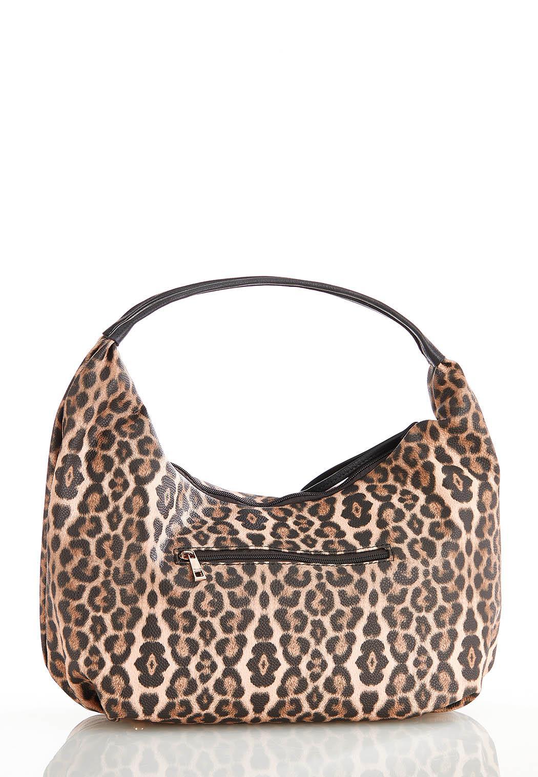 Leopard Hobo Handbag (Item #44500438)