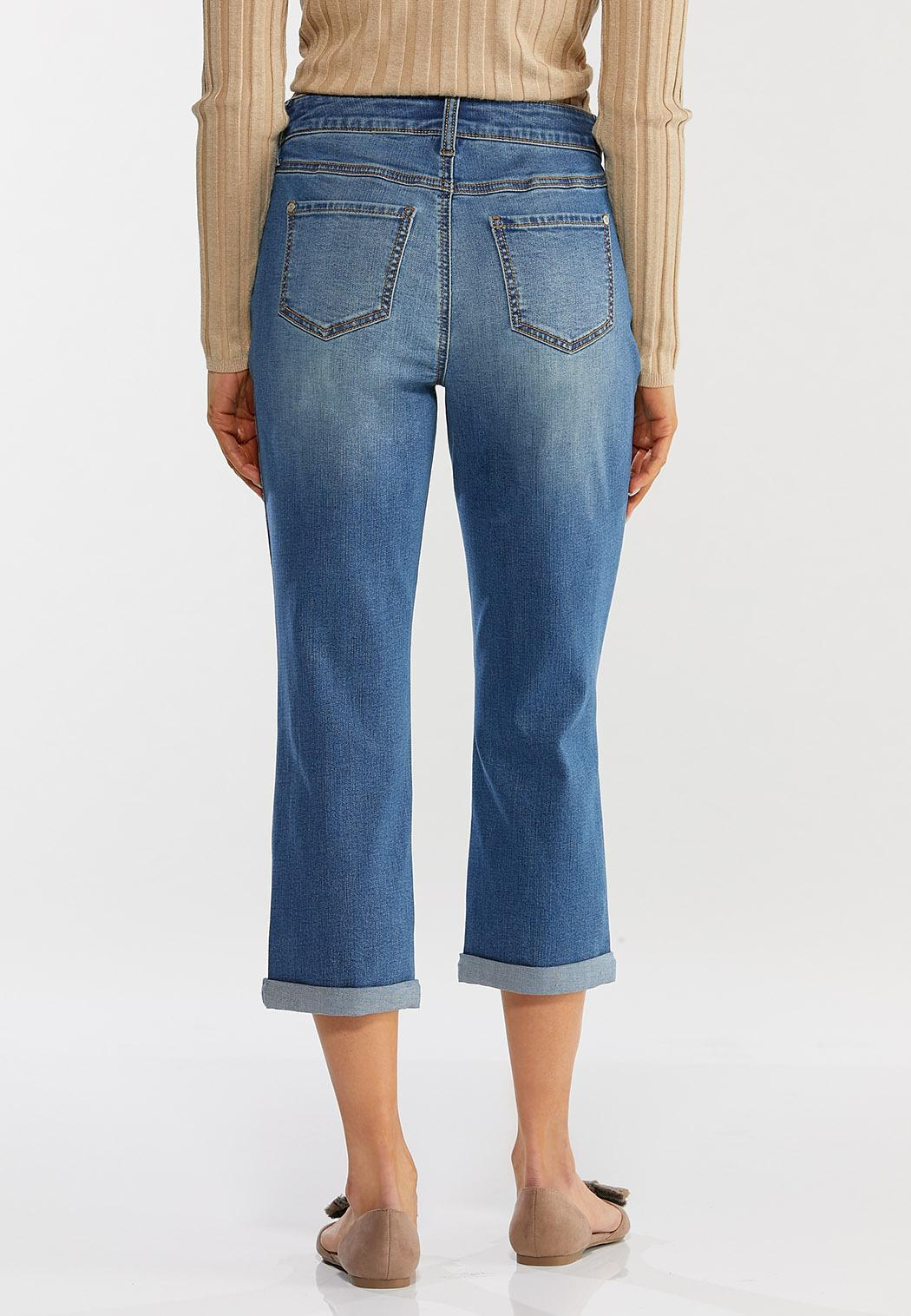 Curvy Cropped Skinny Jeans (Item #44500654)