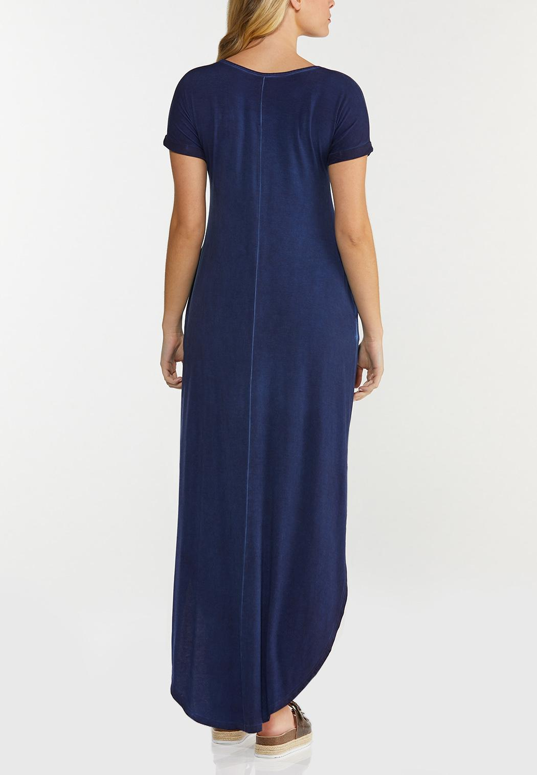 Knotted Tee Maxi Dress (Item #44500911)