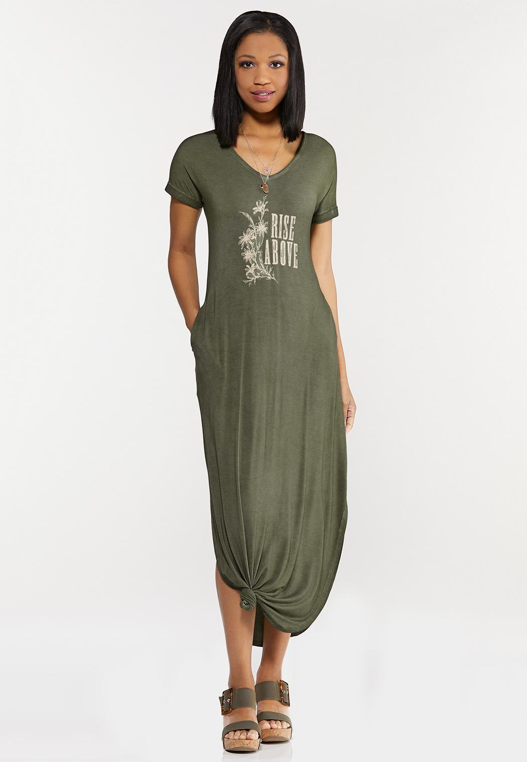 Rise Above Knotted Maxi Dress (Item #44500984)