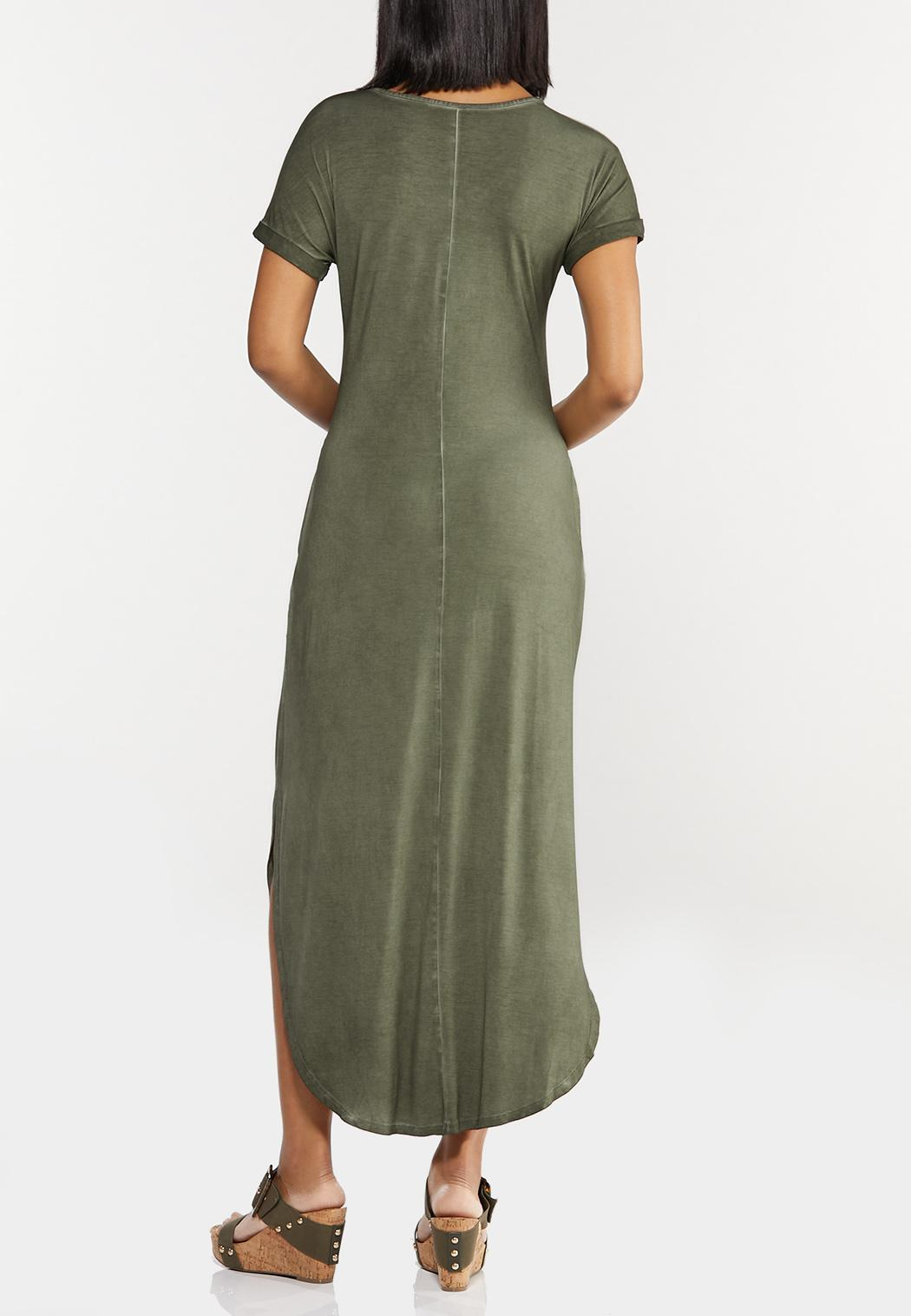 Plus Size Rise Above Knotted Maxi Dress (Item #44501107)