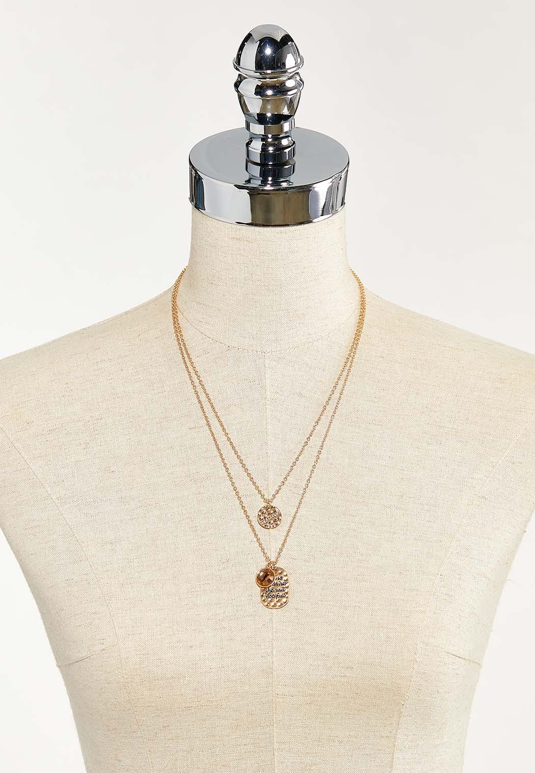 God Is Within Her Charm Necklace (Item #44501332)