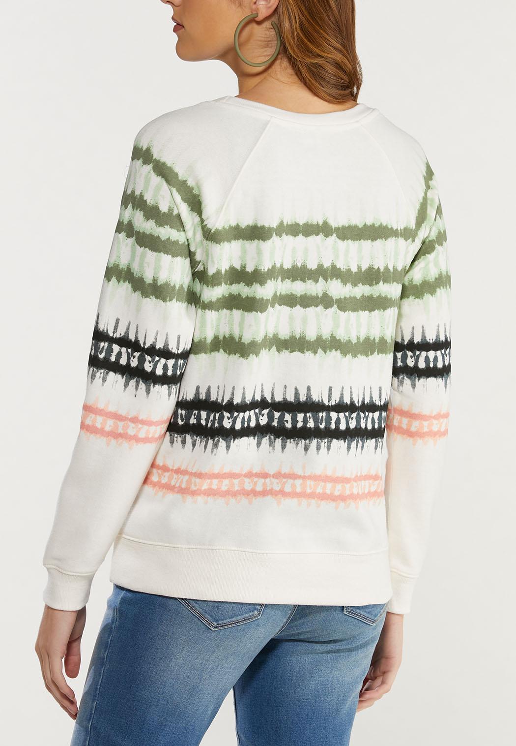 Plus Size Tie Dye Sweatshirt (Item #44502056)