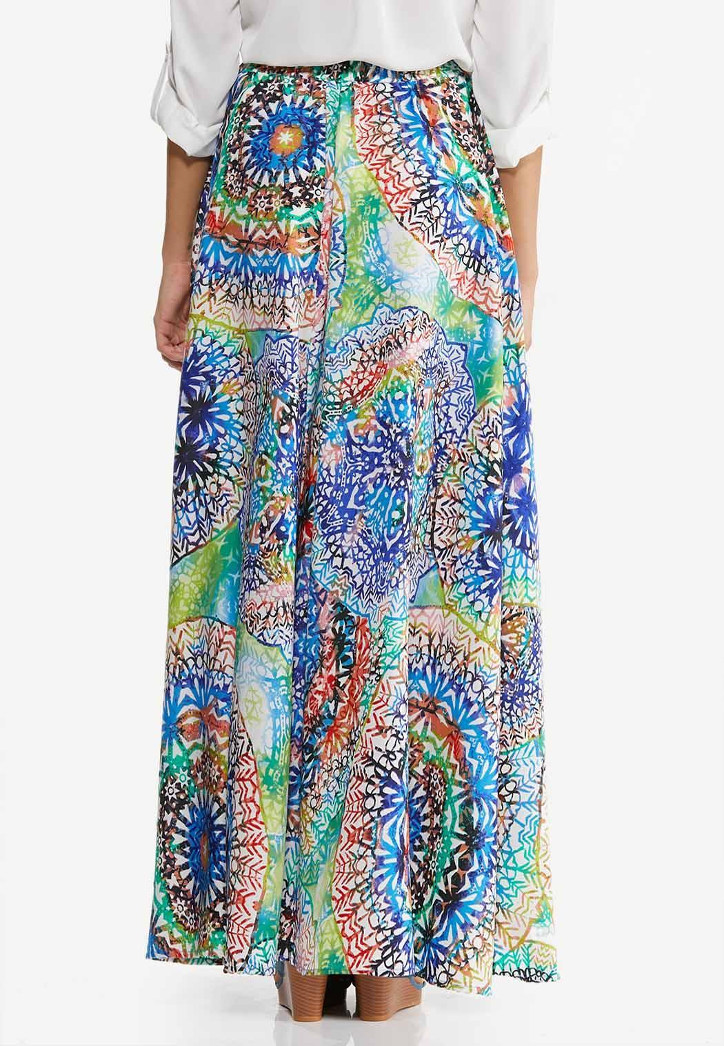 Kaleidoscope Maxi Skirt (Item #44502120)