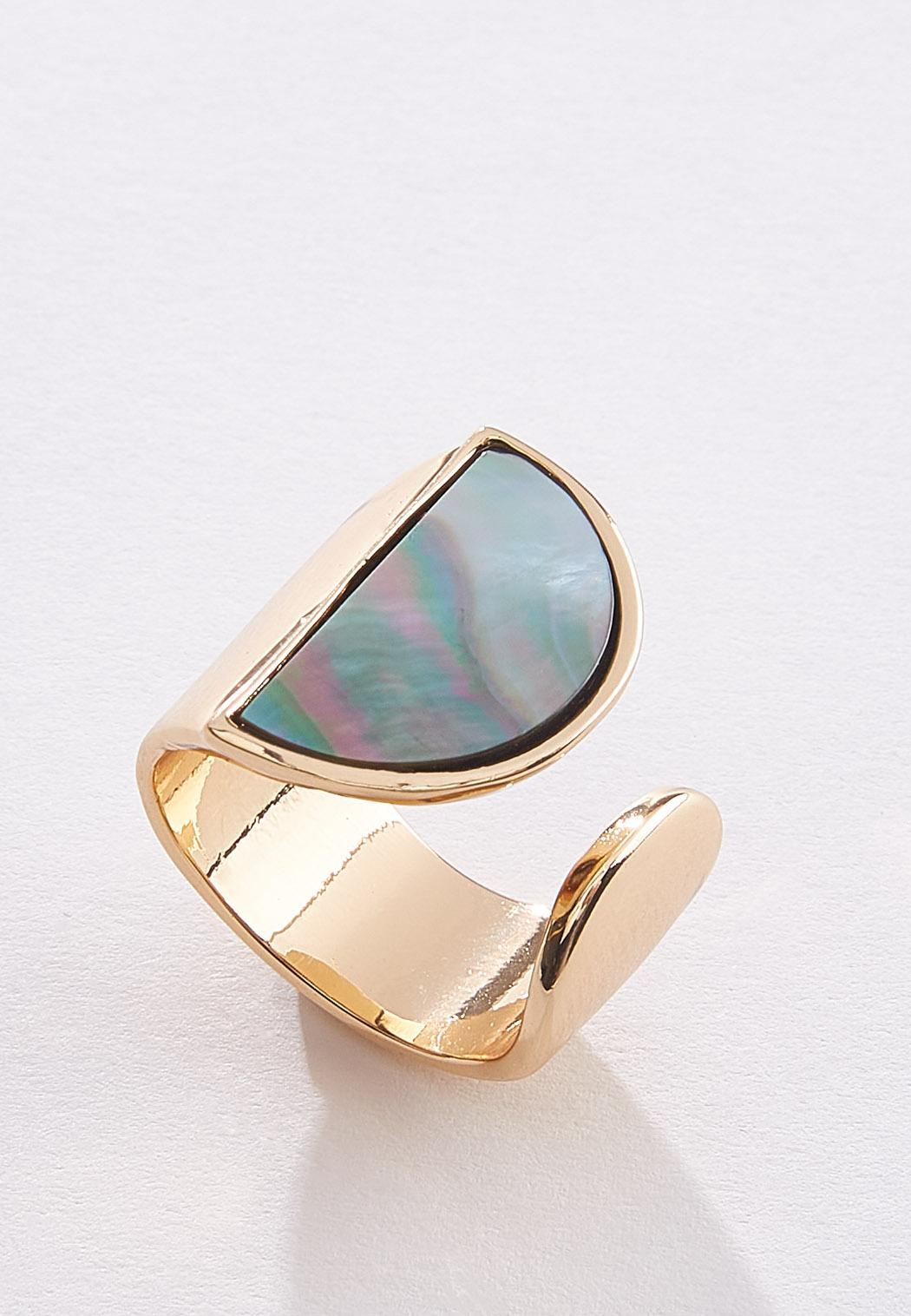 Half Circle Gold Ring (Item #44502710)
