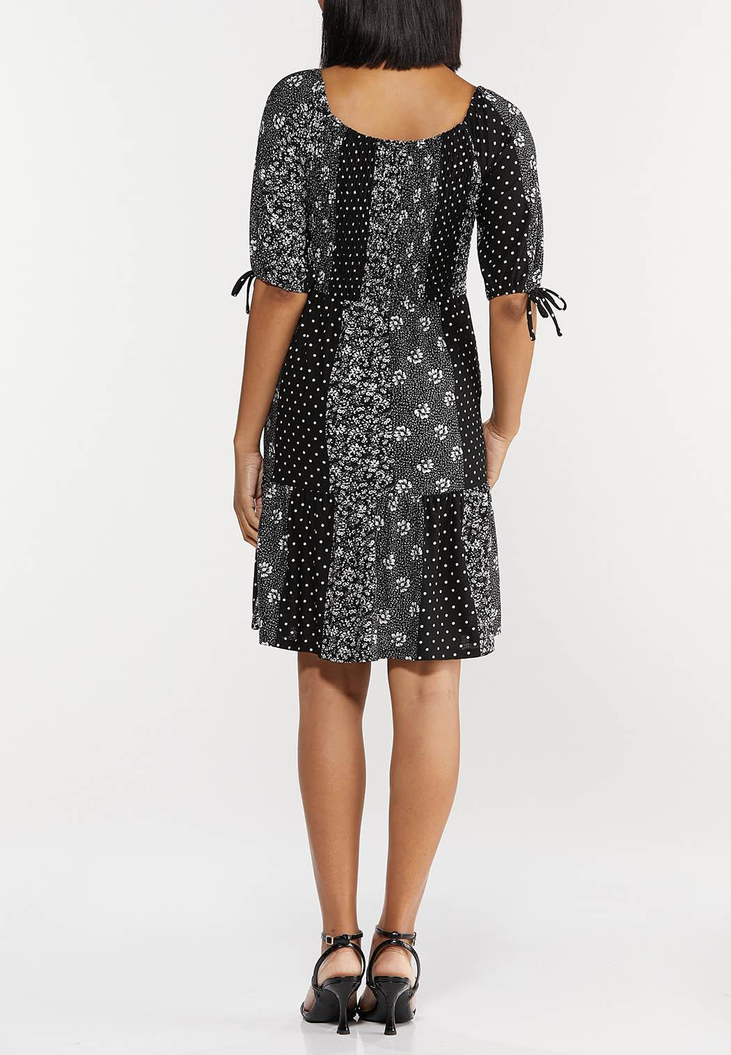 Smocked Patchwork Dress (Item #44503730)