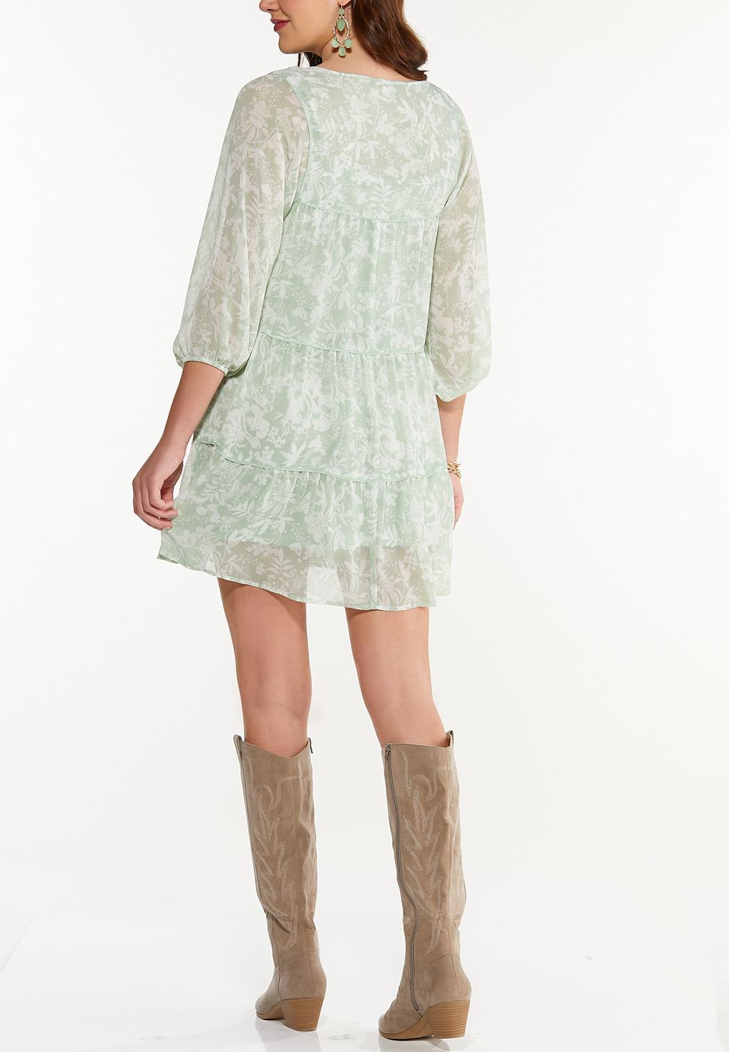 Smocked Green Dress (Item #44505235)