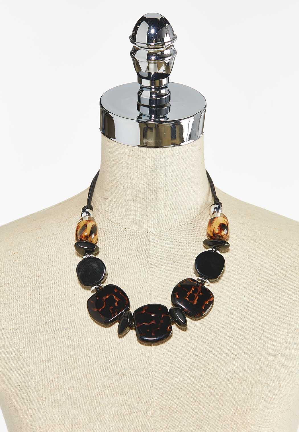 Mixed Bead Necklace (Item #44505327)