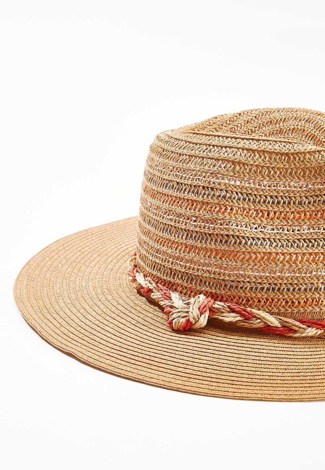Multi Color Braid Band Hat (Item #44505666)