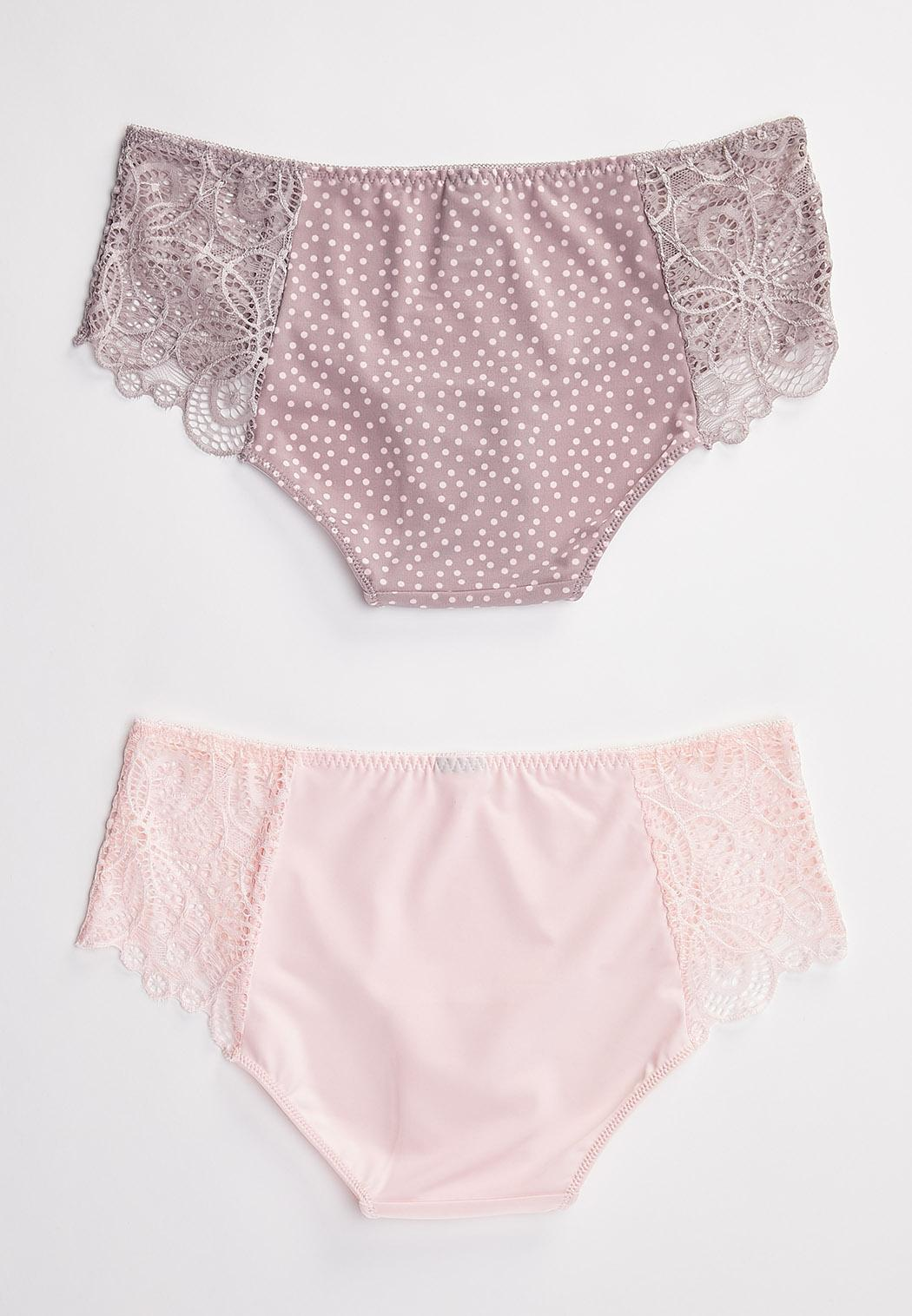 Plus Size Blossom Blast Panty Set (Item #44507336)