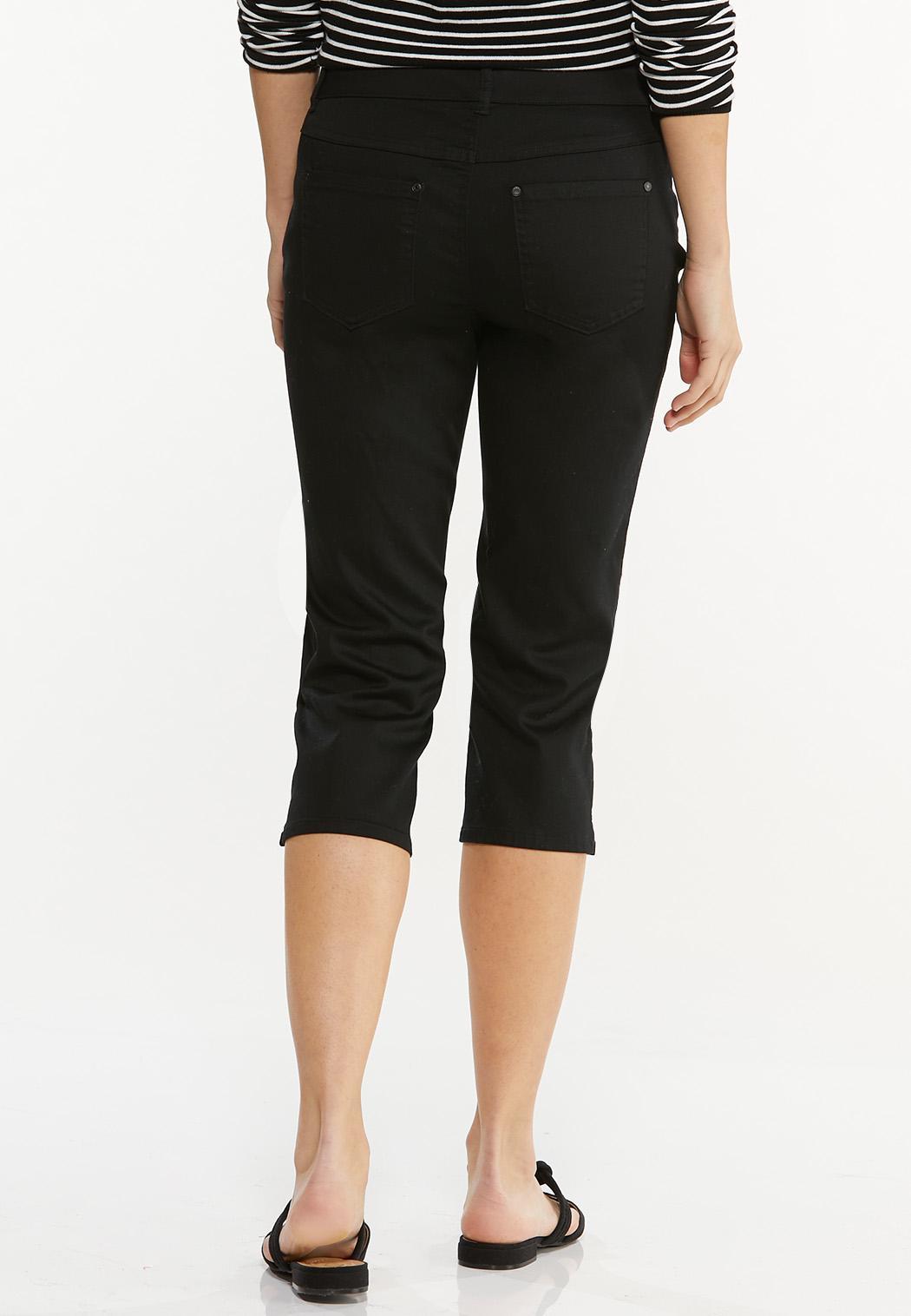 Cropped Black Jeans (Item #44508350)