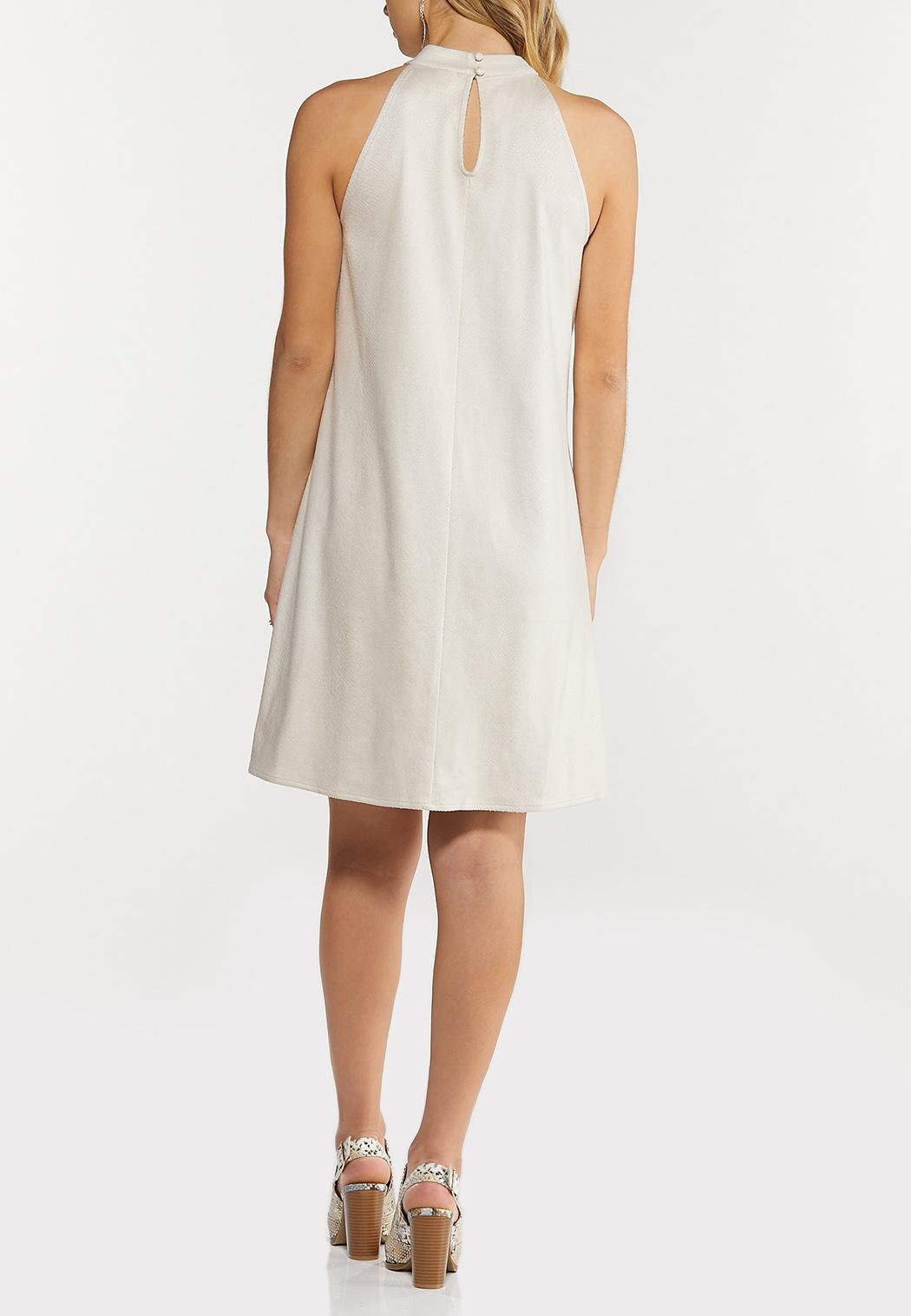Faux Snake Textured Swing Dress (Item #44508959)