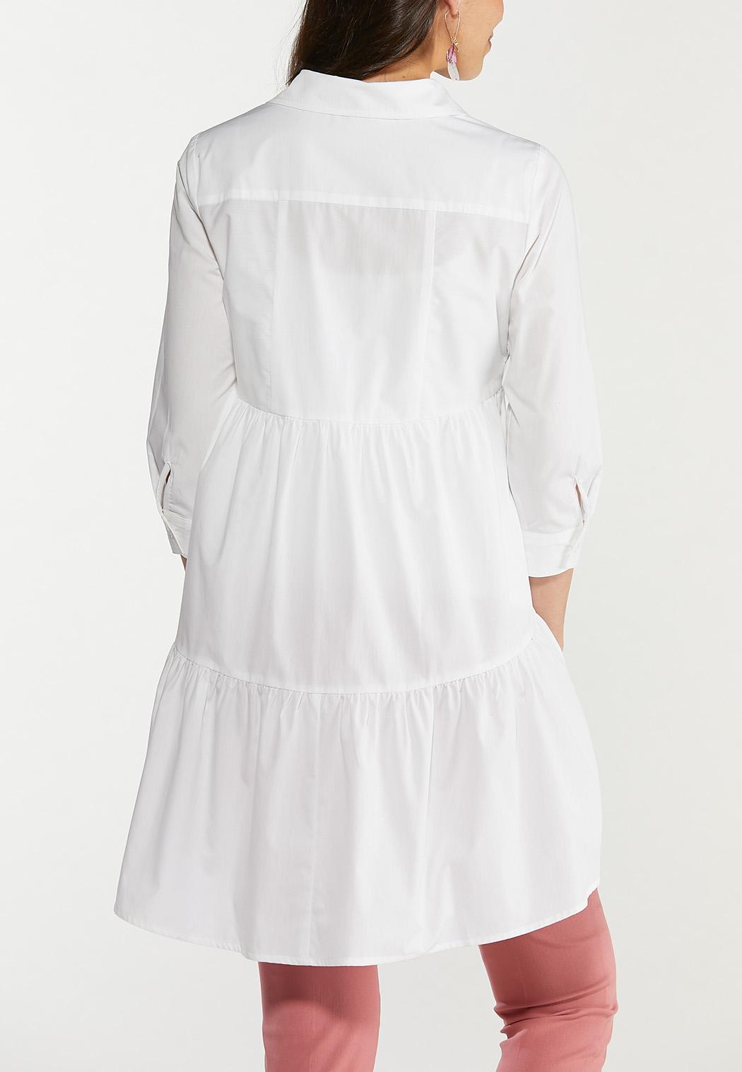 Tiered Button Down Tunic (Item #44510597)