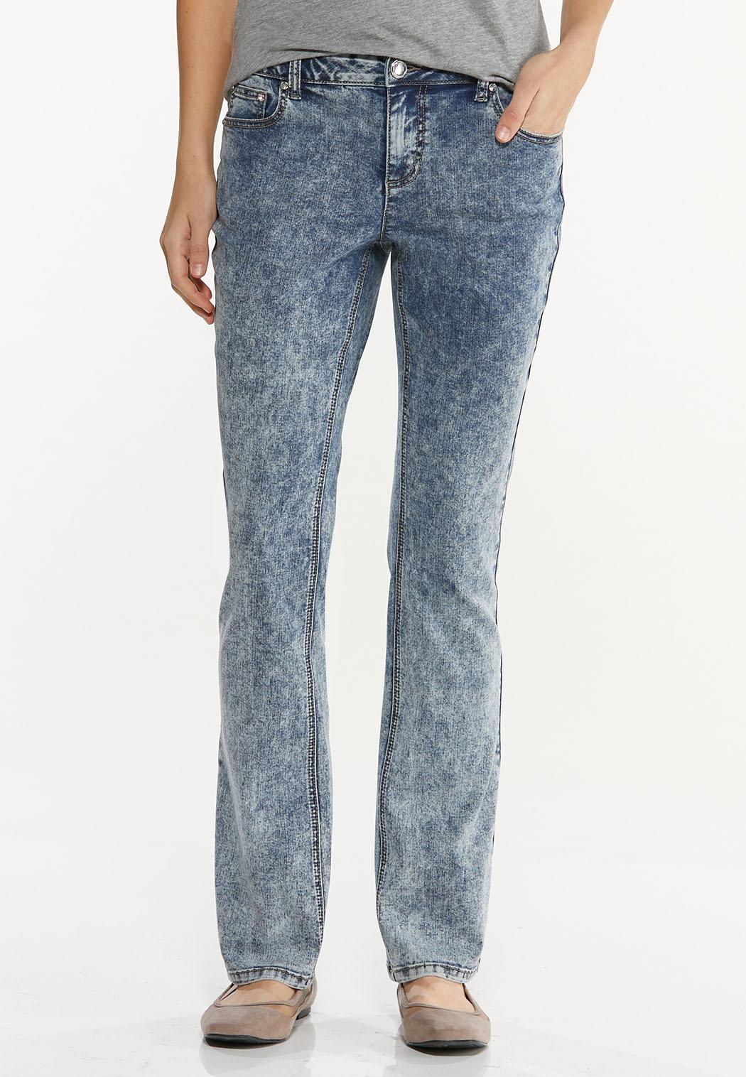 Petite Dark Vintage Wash Jeans (Item #44510734)