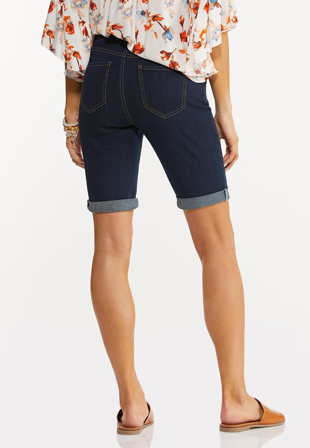 Dark Wash Bermuda Shorts (Item #44510920)