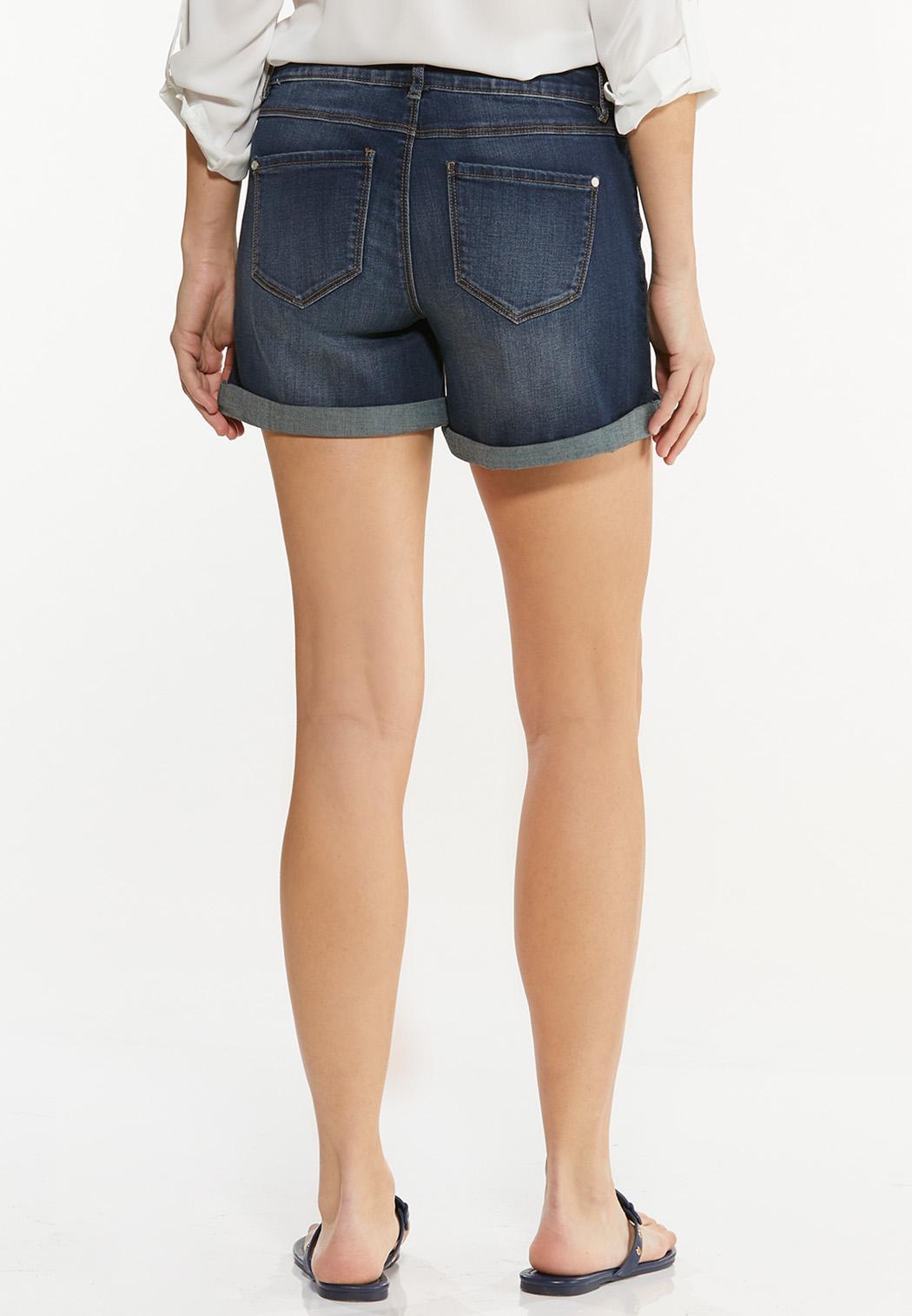 Dark Denim Shorts (Item #44511060)
