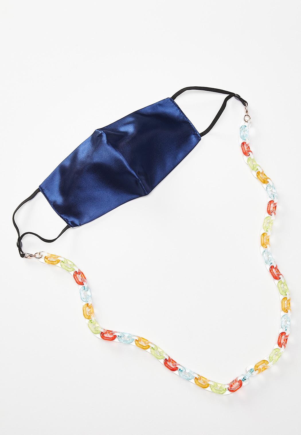 Rainbow Lucite Mask Chain (Item #44512309)