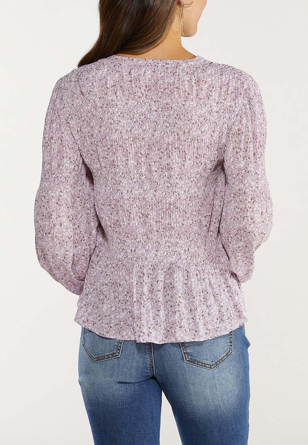 Lavender Fields Sleeve Top (Item #44512672)