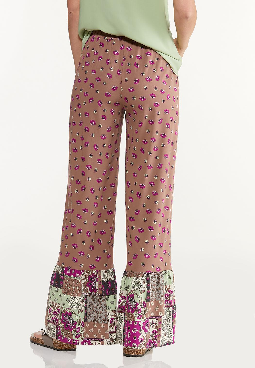 Floral Patchwork Pants (Item #44514461)