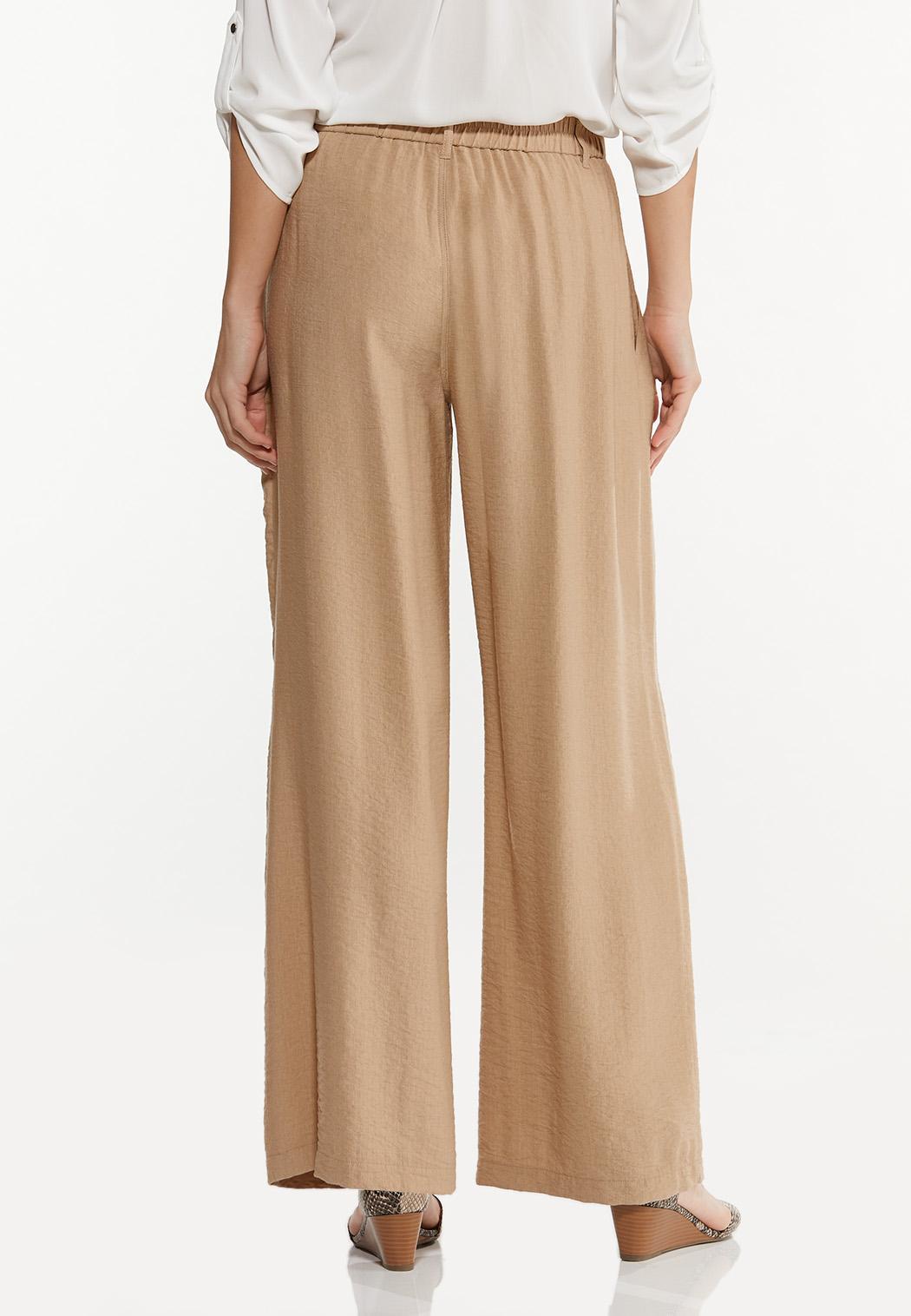 Tan Wide Leg Pants (Item #44515446)