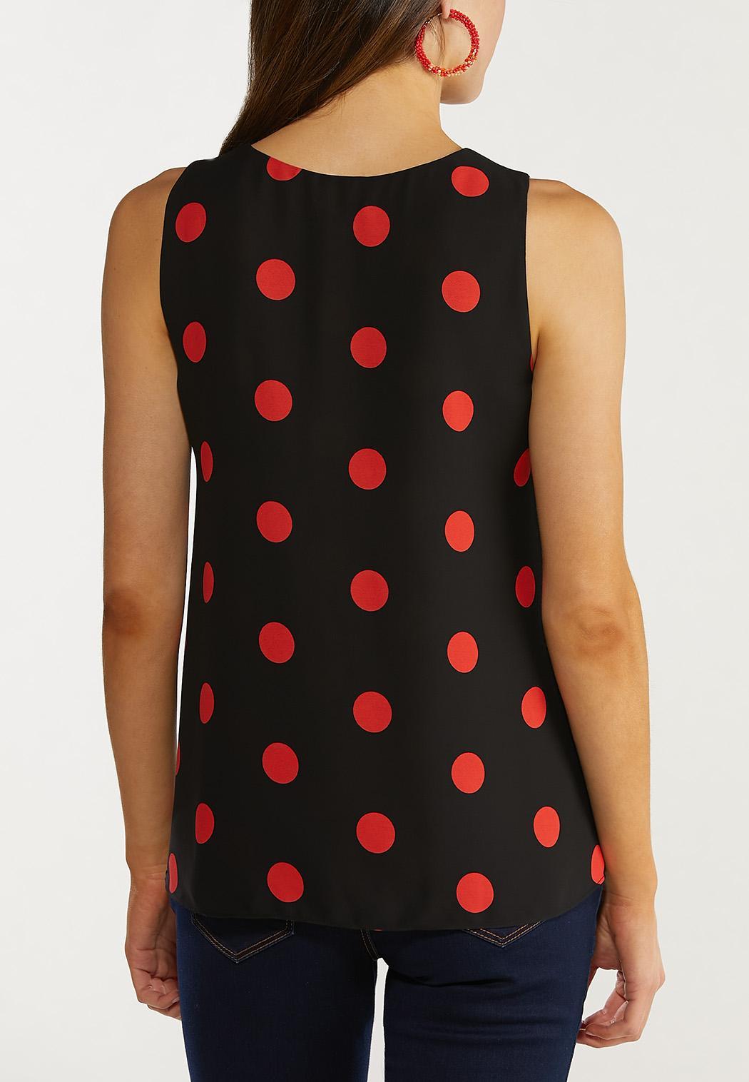 Red Polka Dot Tank (Item #44515465)