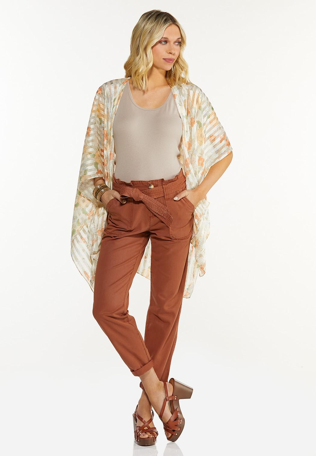 Belted Utility Pants (Item #44515541)