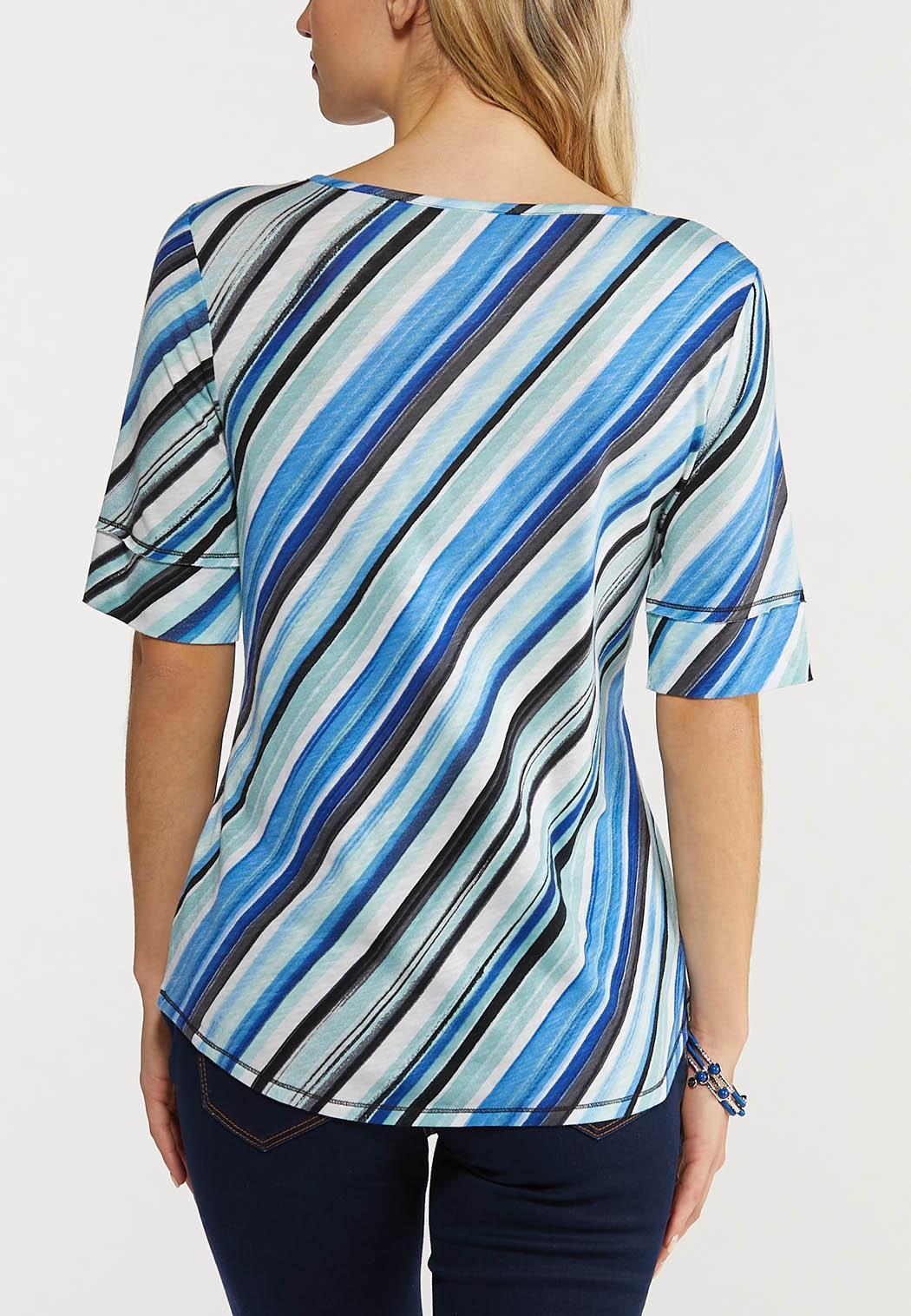 Diagonal Stripe Top (Item #44517532)