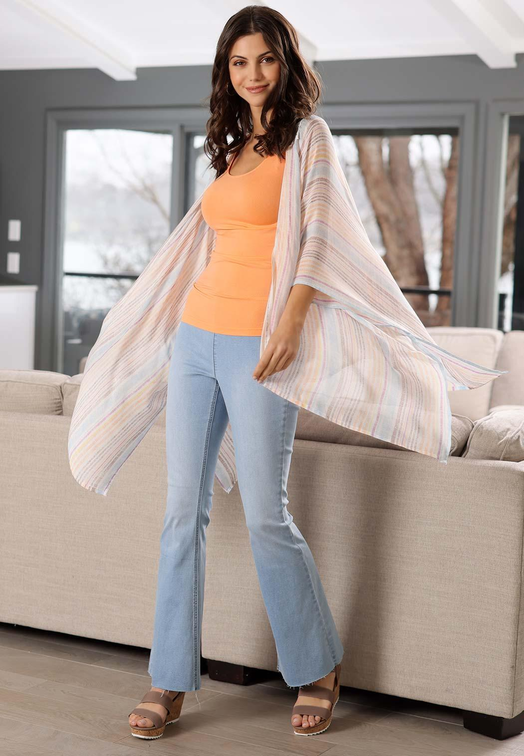 Pull-On Flare Jeans (Item #44519041)
