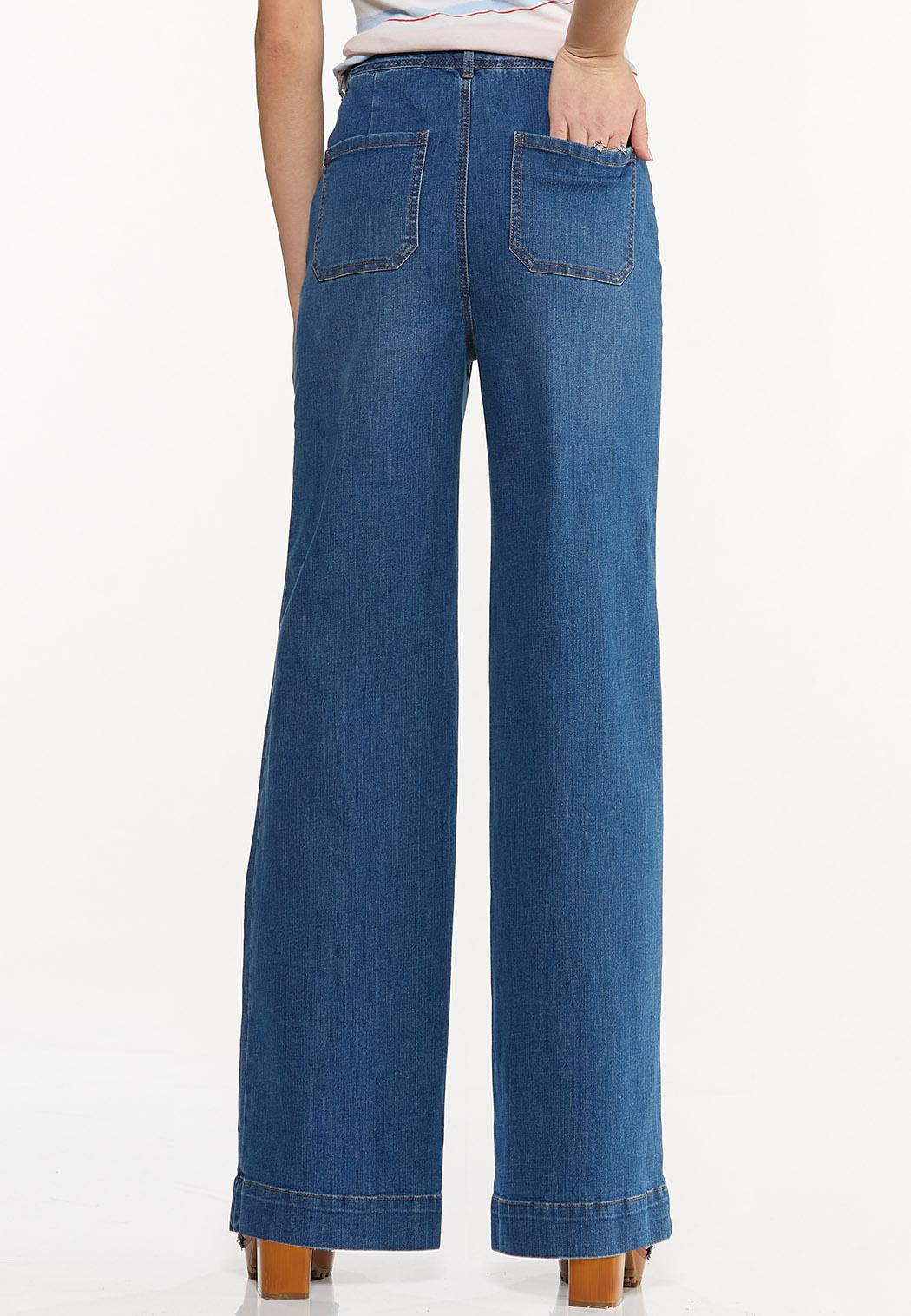 Wide Leg Jeans (Item #44519088)