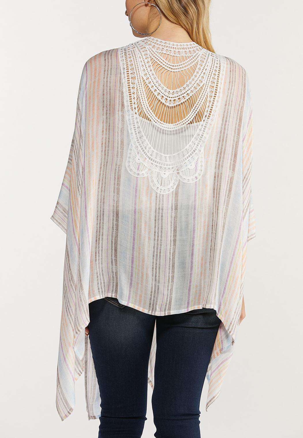Pastel Stripe Kimono (Item #44519159)