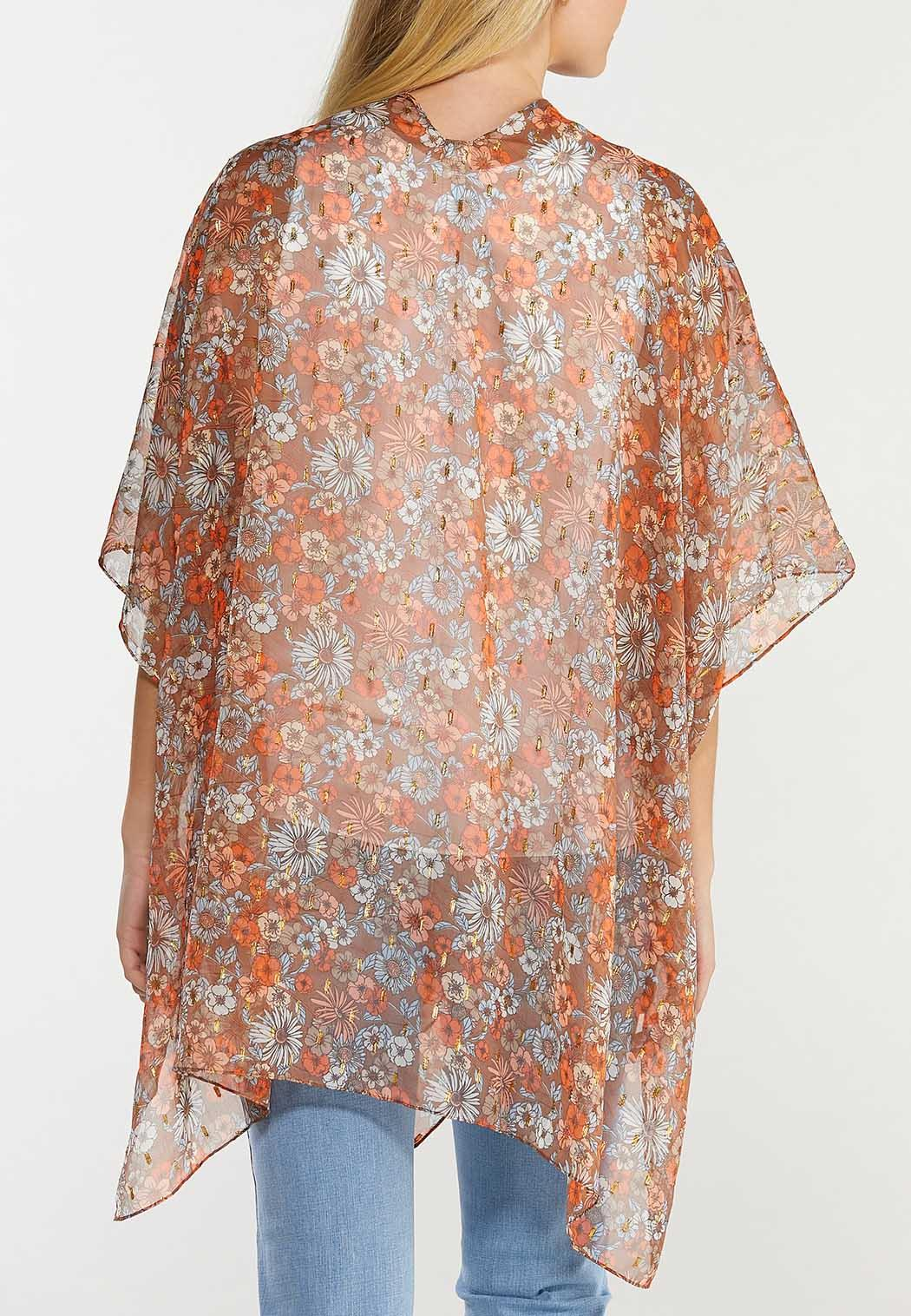 Earth Floral Kimono  (Item #44519223)