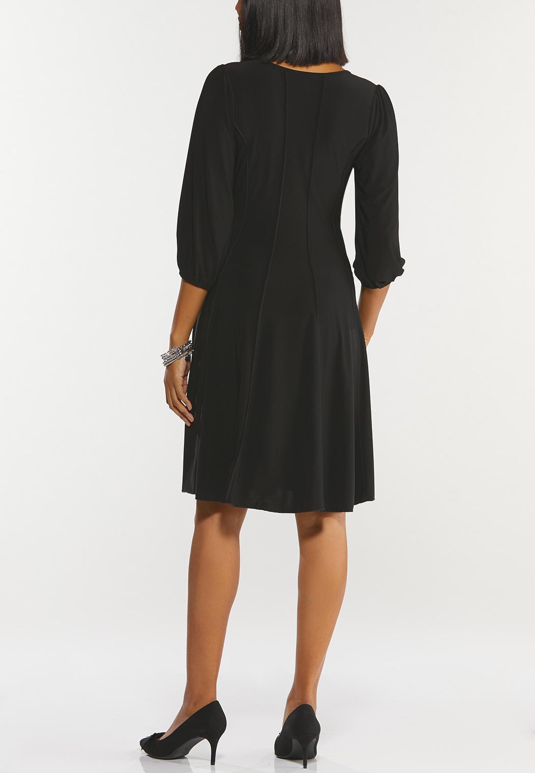 Seamed Smock Sleeve Dress (Item #44519903)